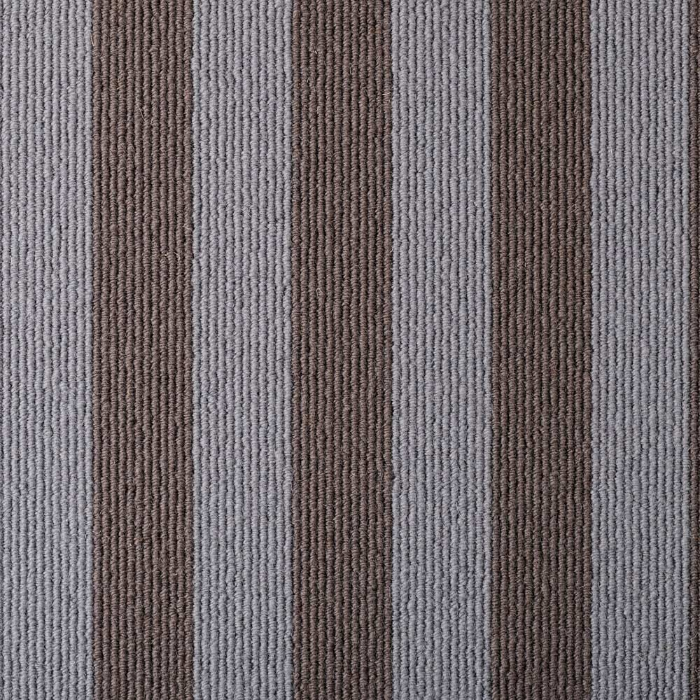 Wool Blocstripe Mineral Sable