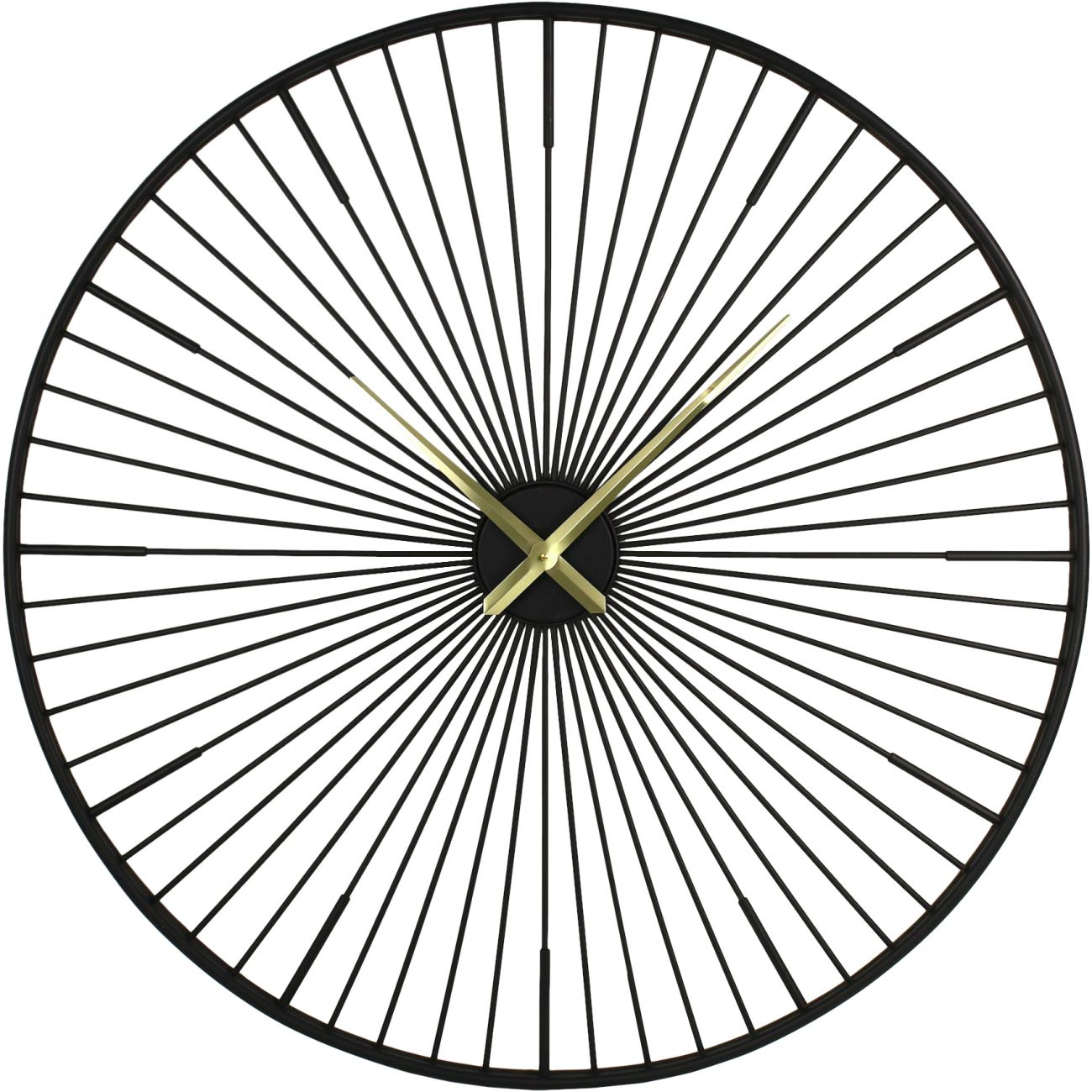 Turbine Metal Wall Clock