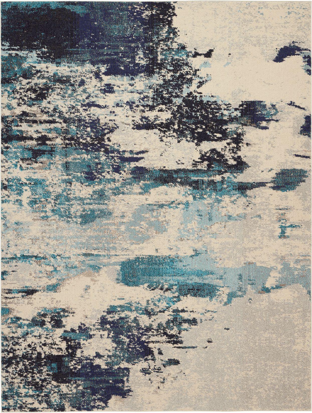 Celestial Rug CES02 Blue/Ivory