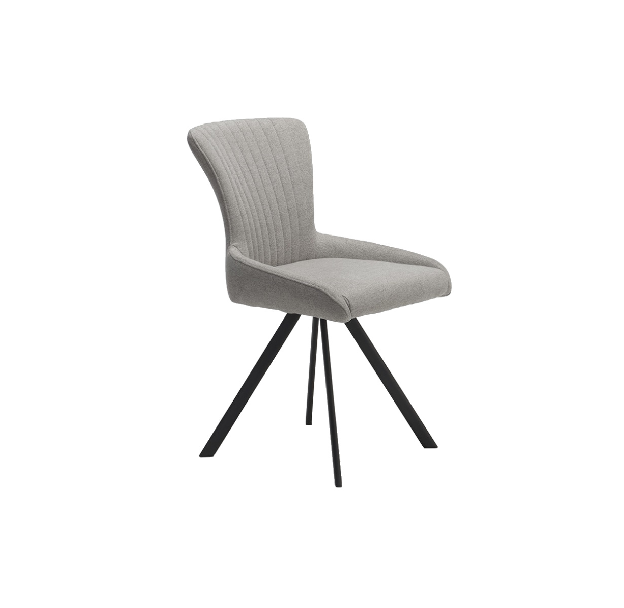 Tiffany Light Grey Swivel Chair