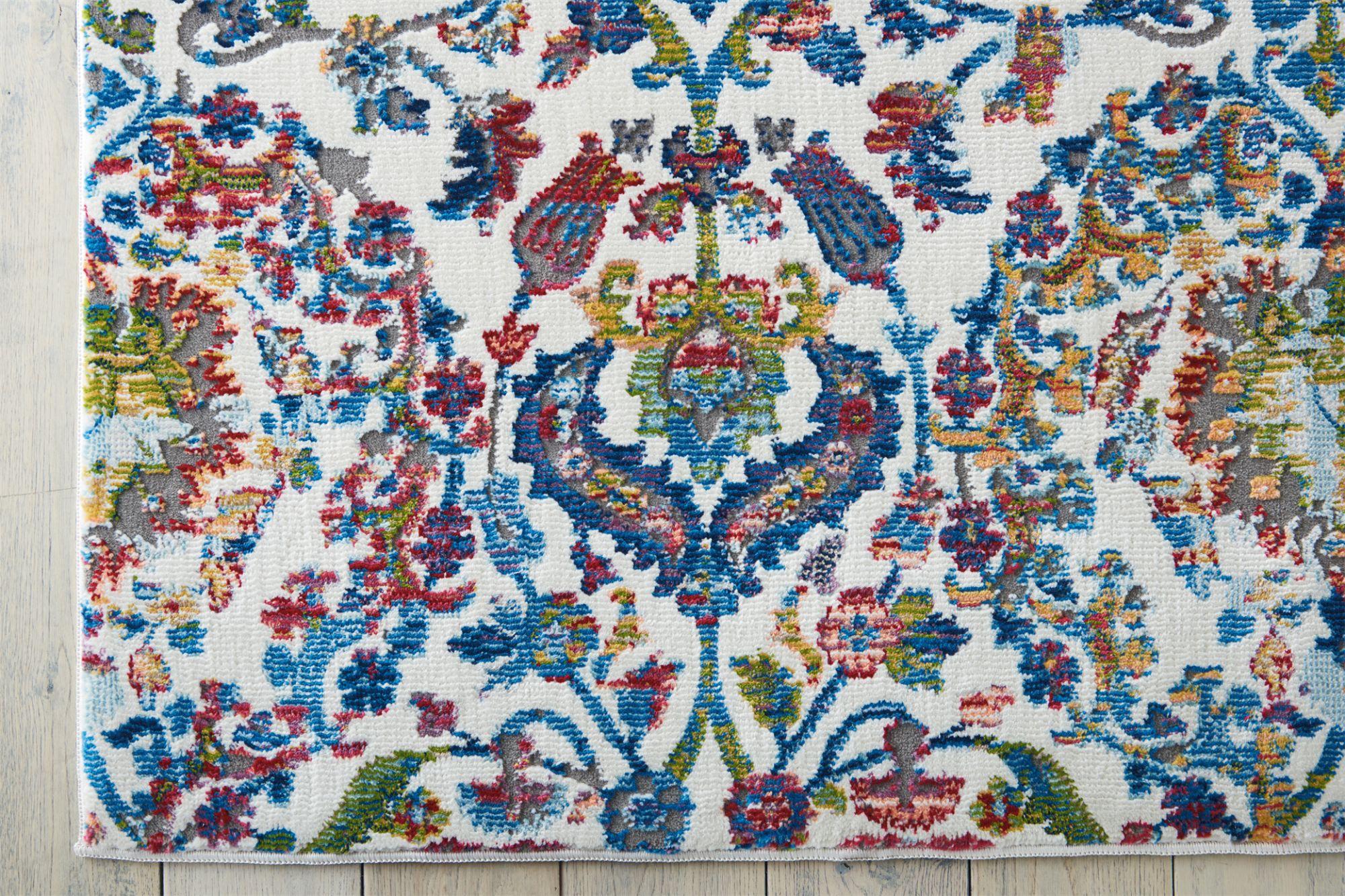 Ankara Global Rug ANR06 Ivory Blue