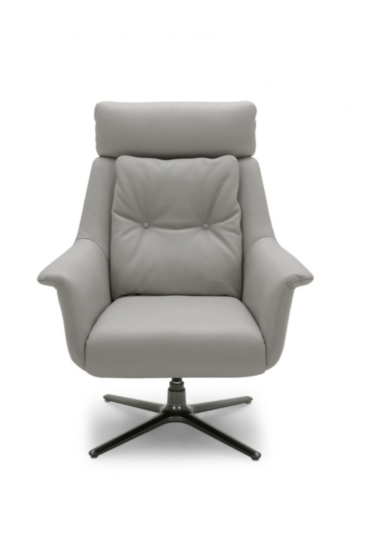 Nadia Swivel Chair  - Dark Grey