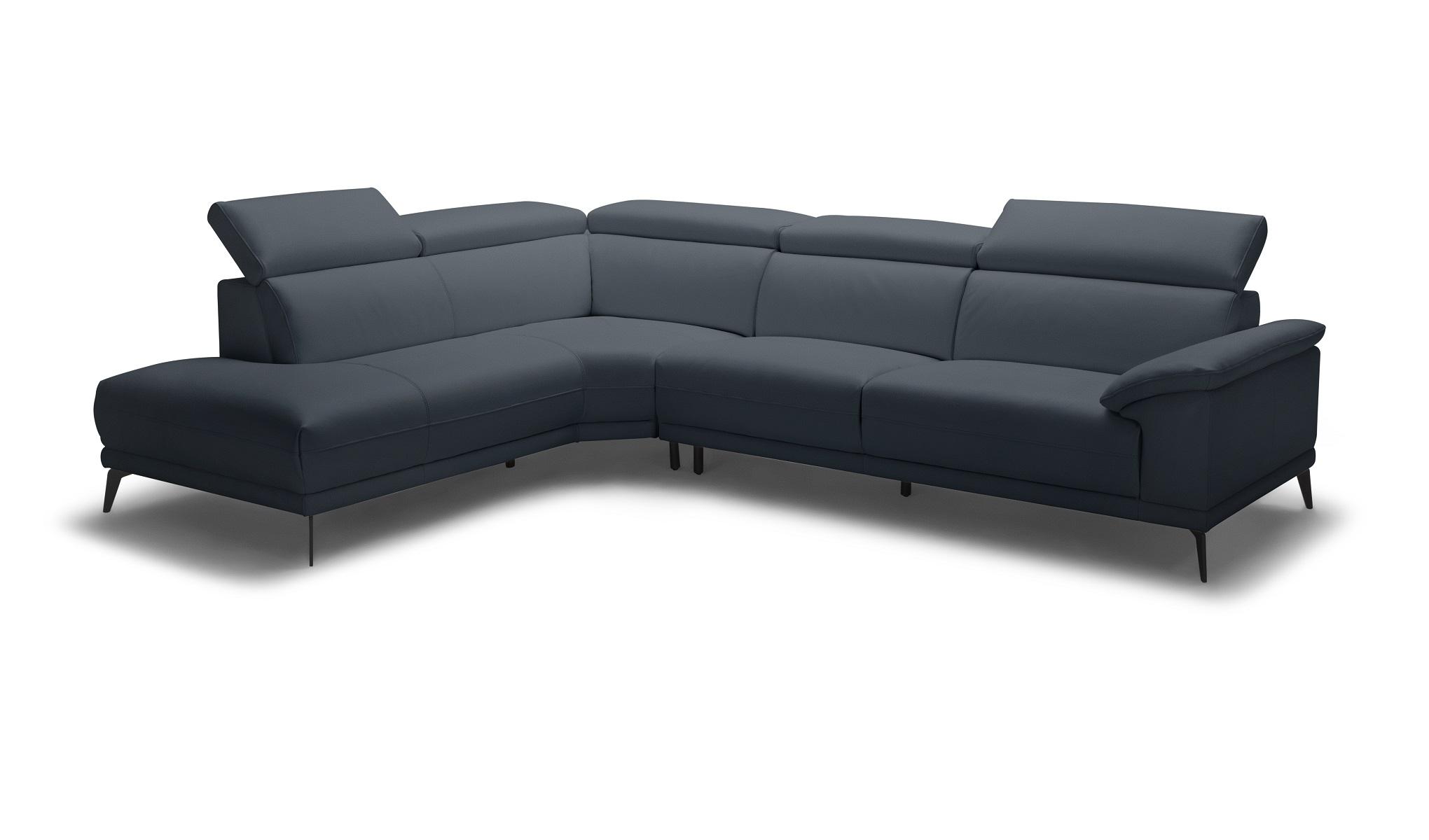 Montero LHF Corner Sofa - Navy