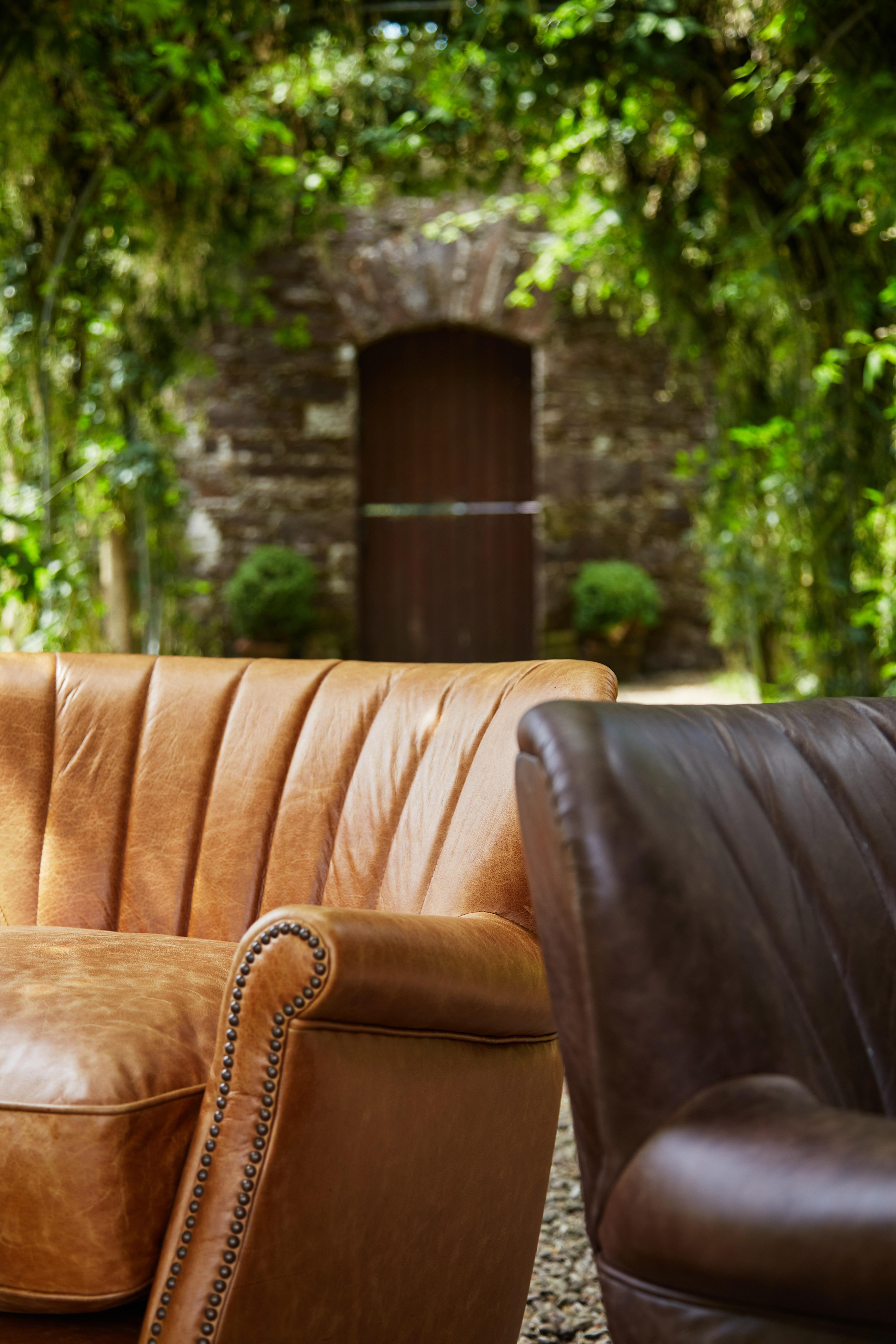Percy Chair - Satchel Latte