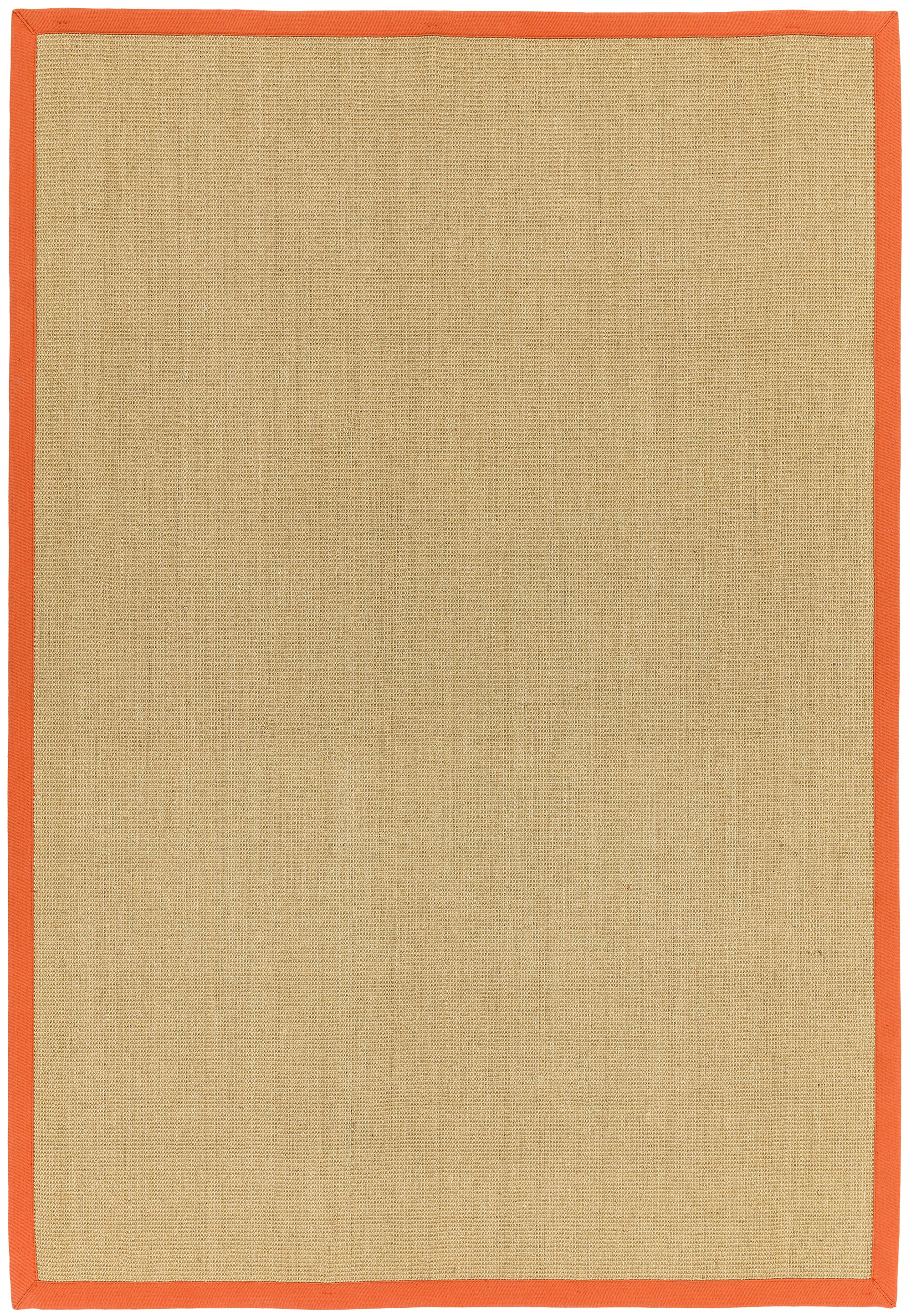 Sisal Rug Orange