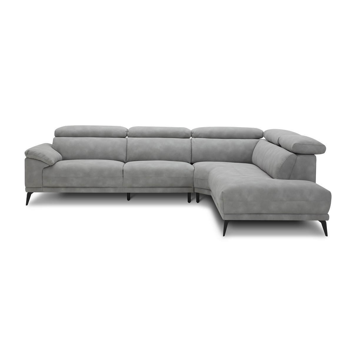 Montero RHF Corner Sofa - Grey