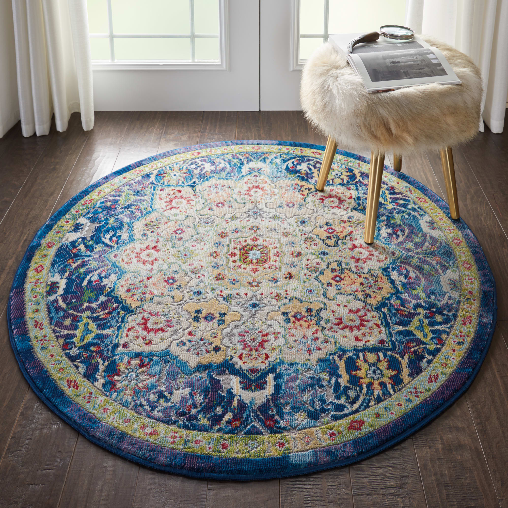 Ankara Global Rug ANR03 Blue