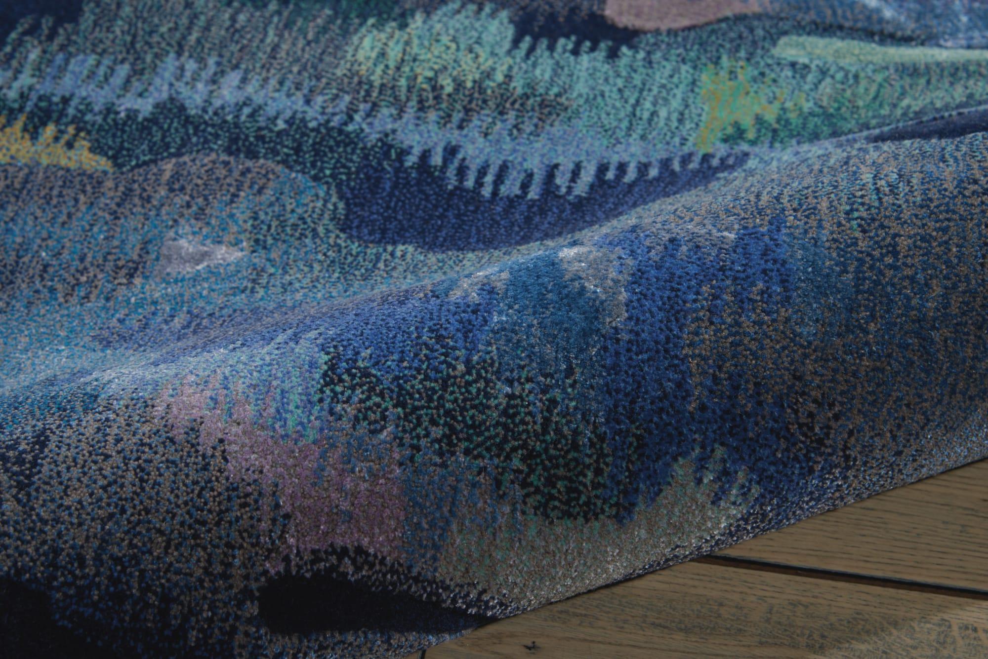 Prismatic Rug PRS09 Silver/Blue