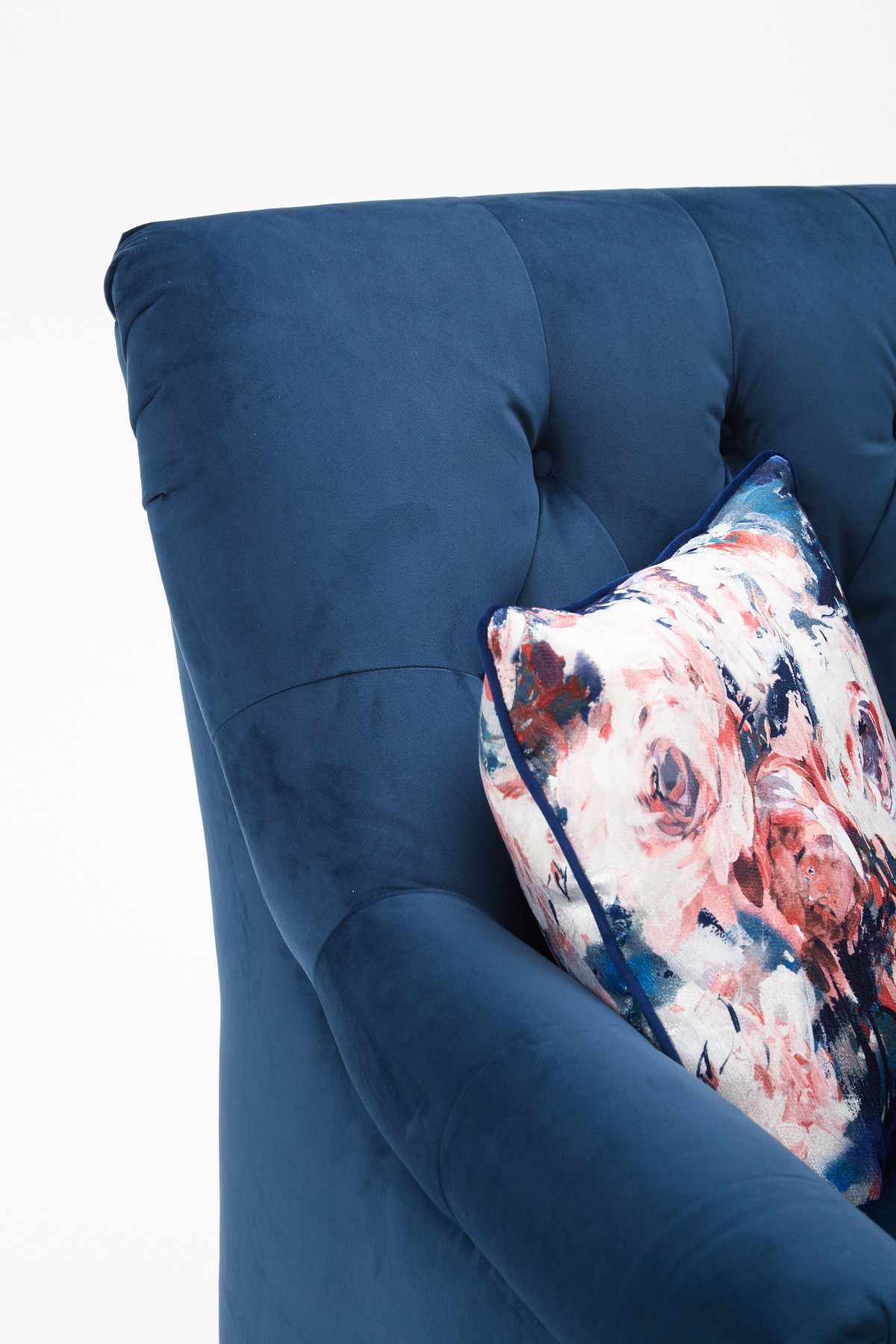 Sofia Chair Plush Teal