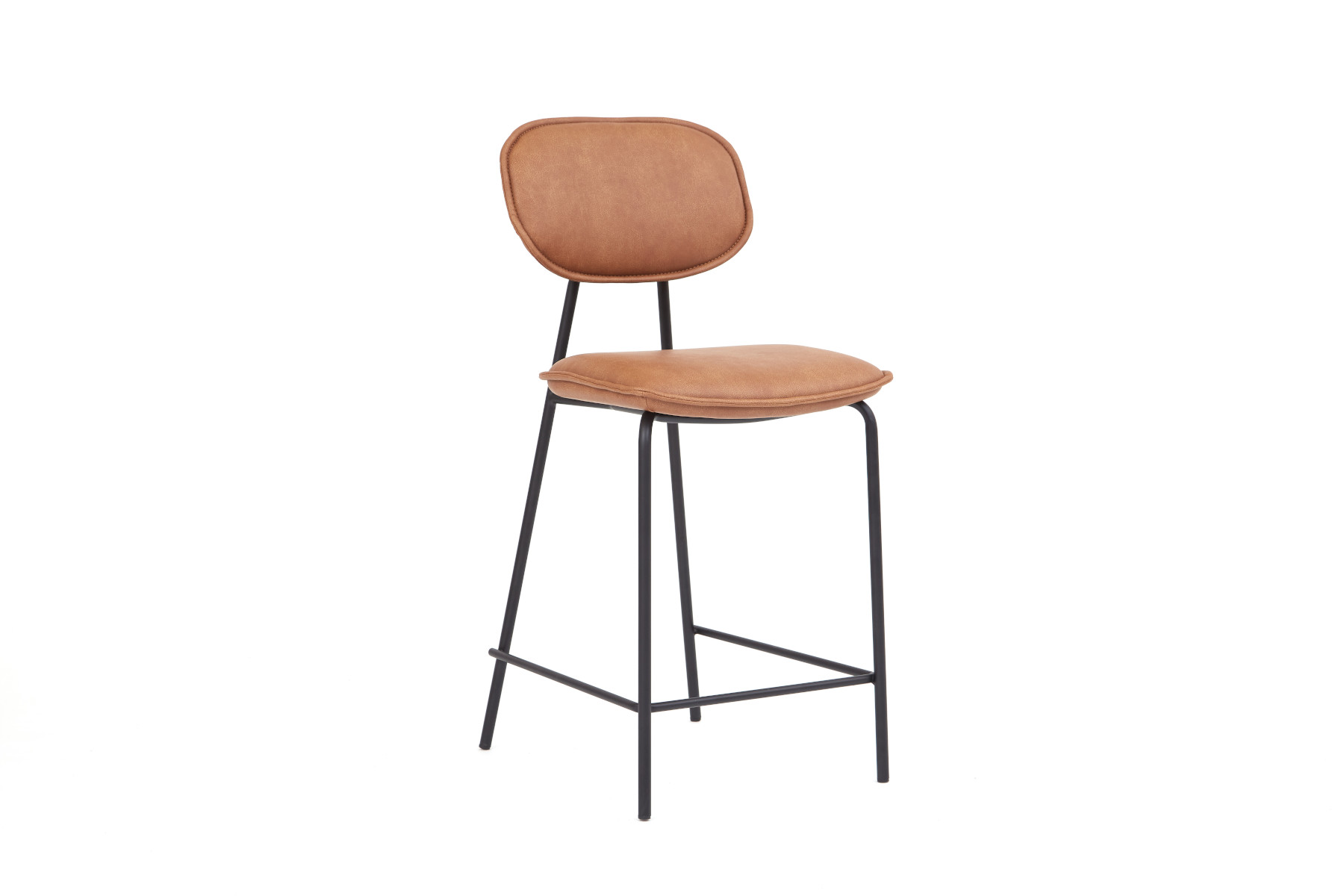 Logan Brown Bar Stool