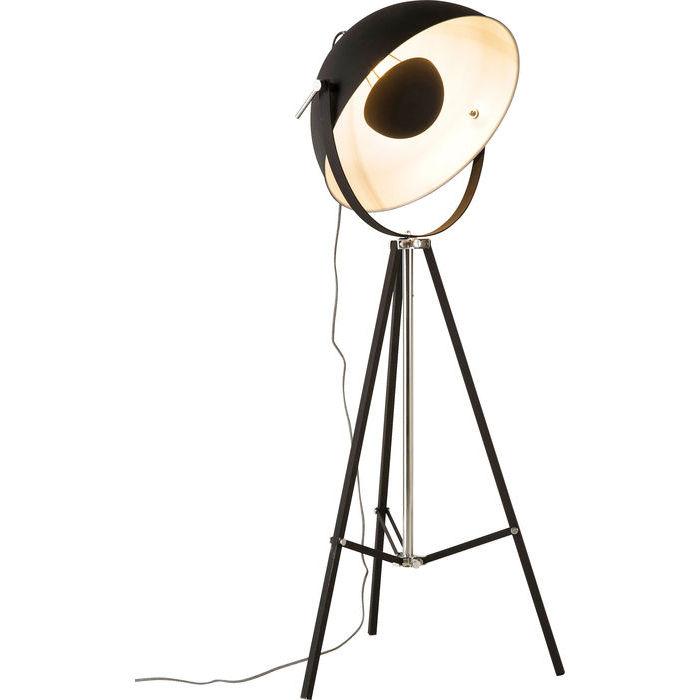 Black Bowl Floor Lamp