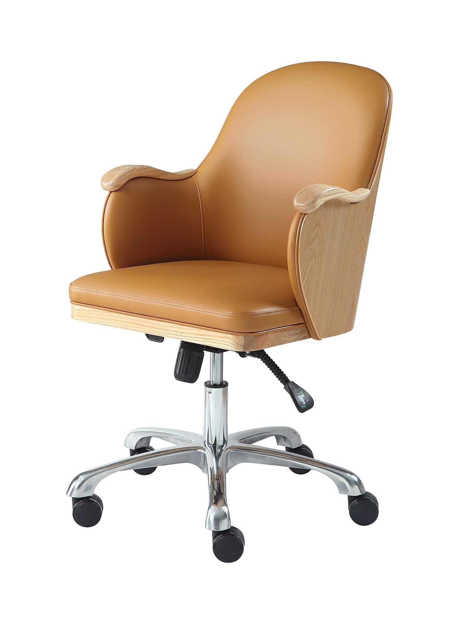 San Francisco Executive Oak Office Chair