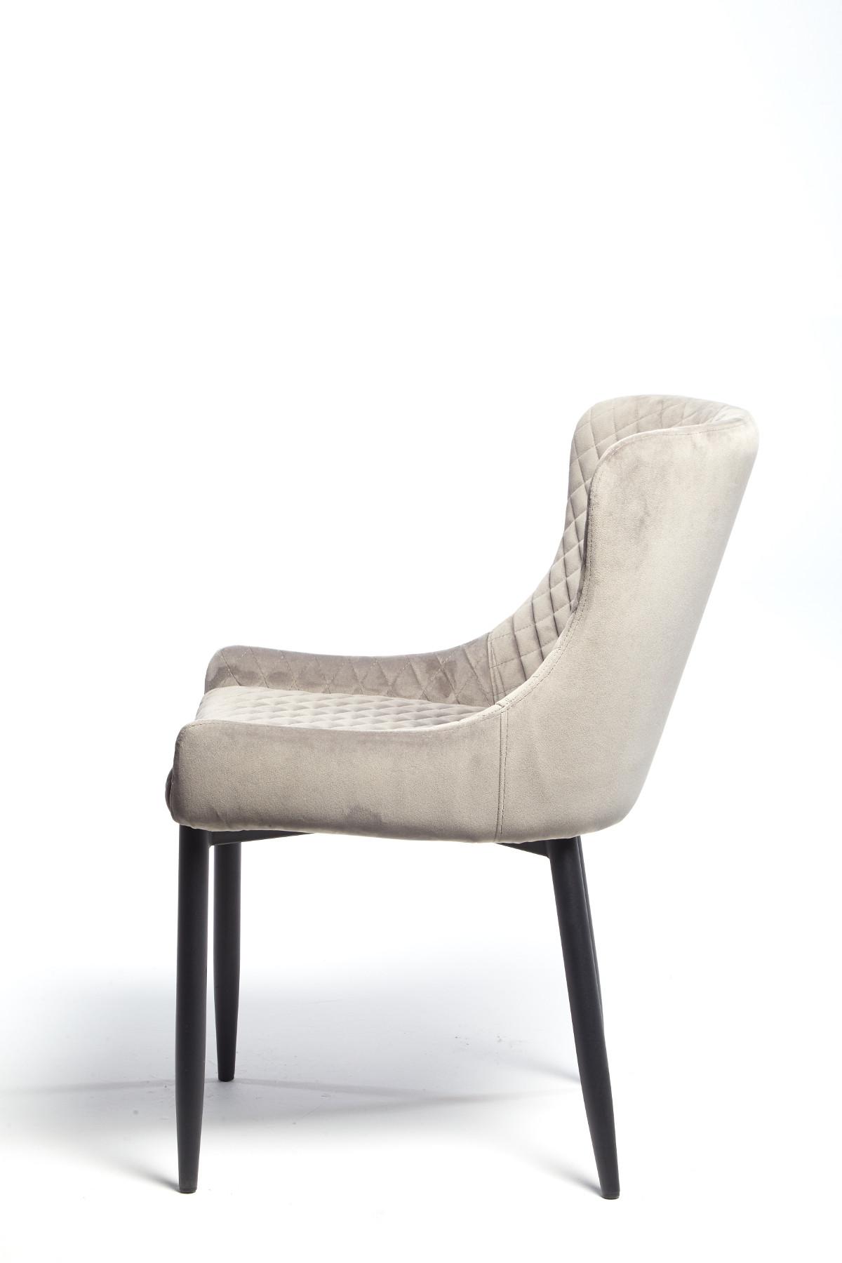 Maxwell Chair (Grey Velvet)