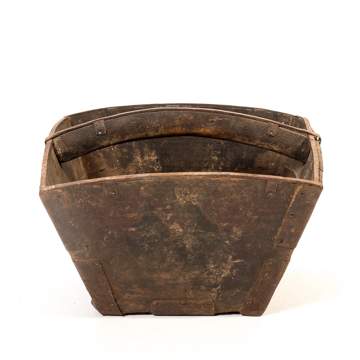Vintage Farmer Bucket