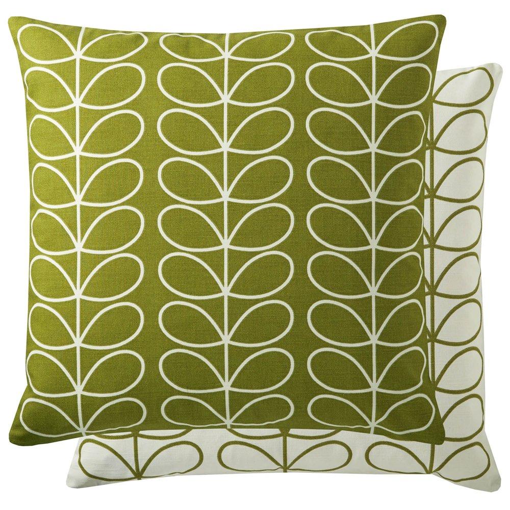 Small Linear Stem Cushion - Apple