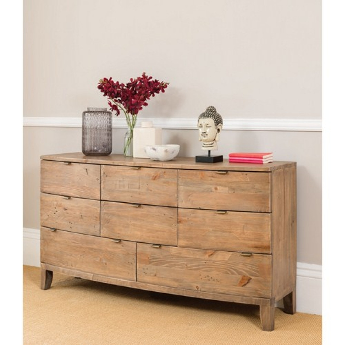 Somer 8 Drawer Wide Chest of Drawers