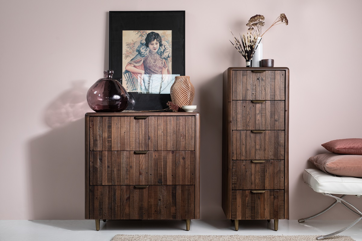 Auckland 5 Drawer Tall Chest