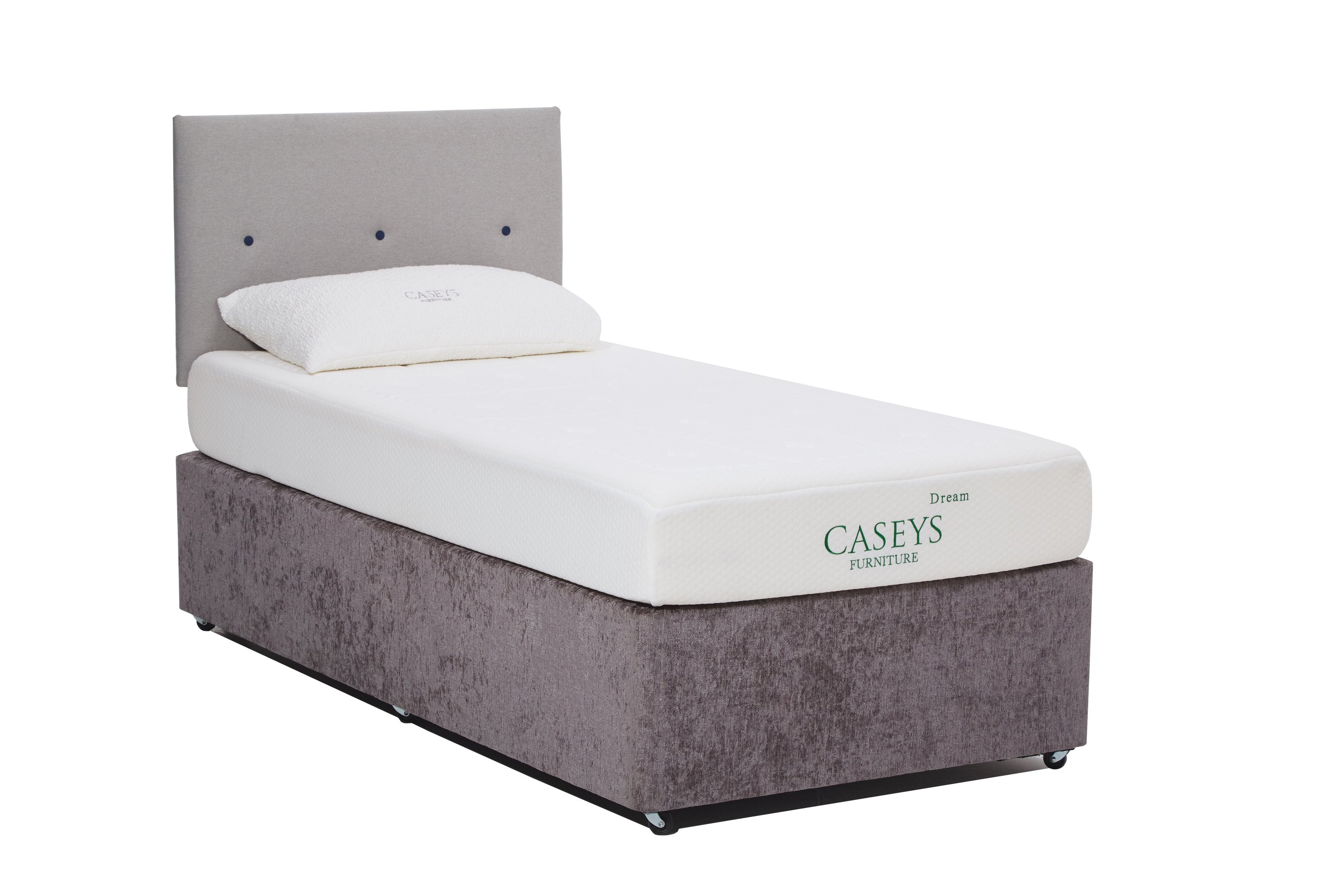 Caseys Dream Deluxe 3ft Mattress & Divan