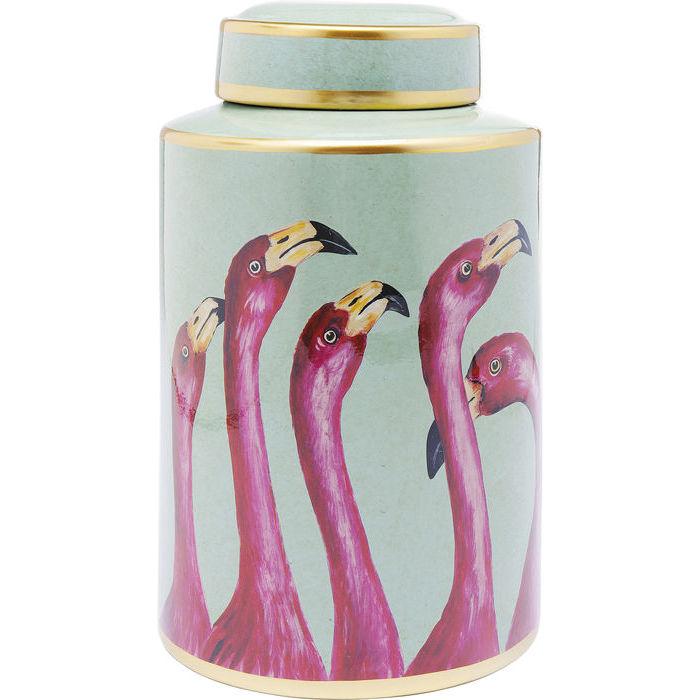 A Flamboyance of Flamingos Jar