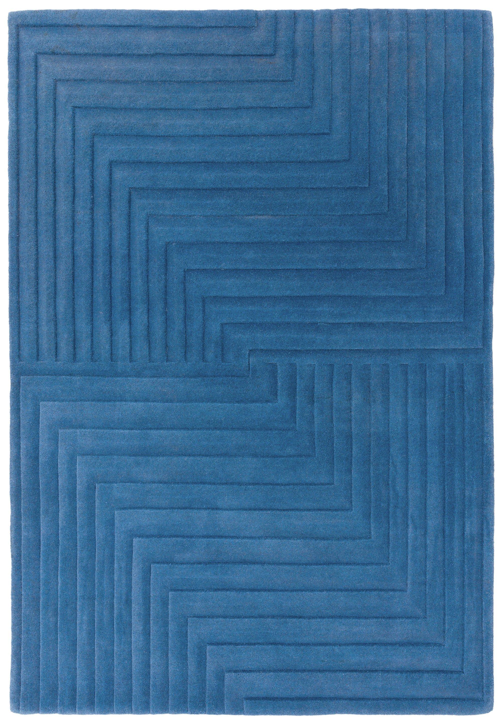 Form Rug Blue