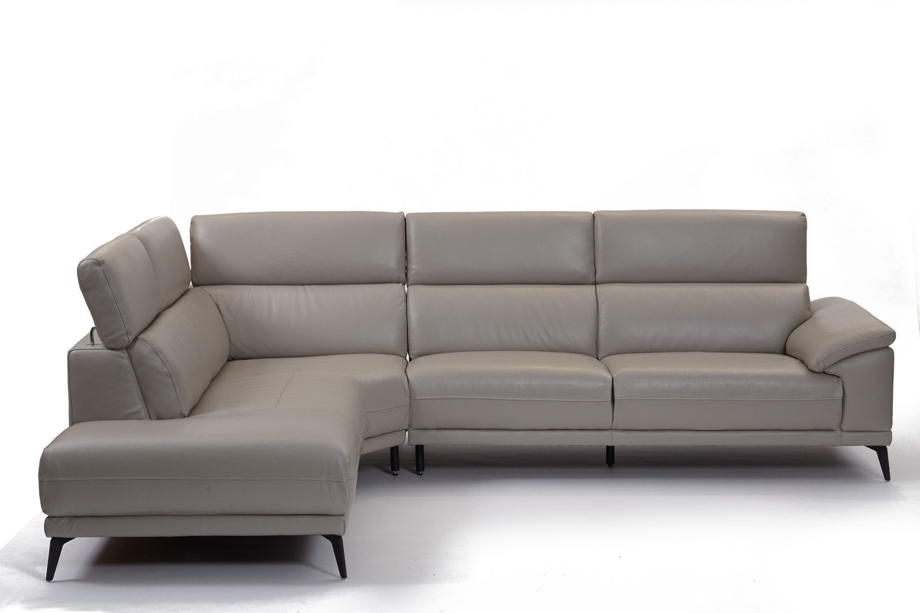 Montero LHF Corner Sofa - Leather