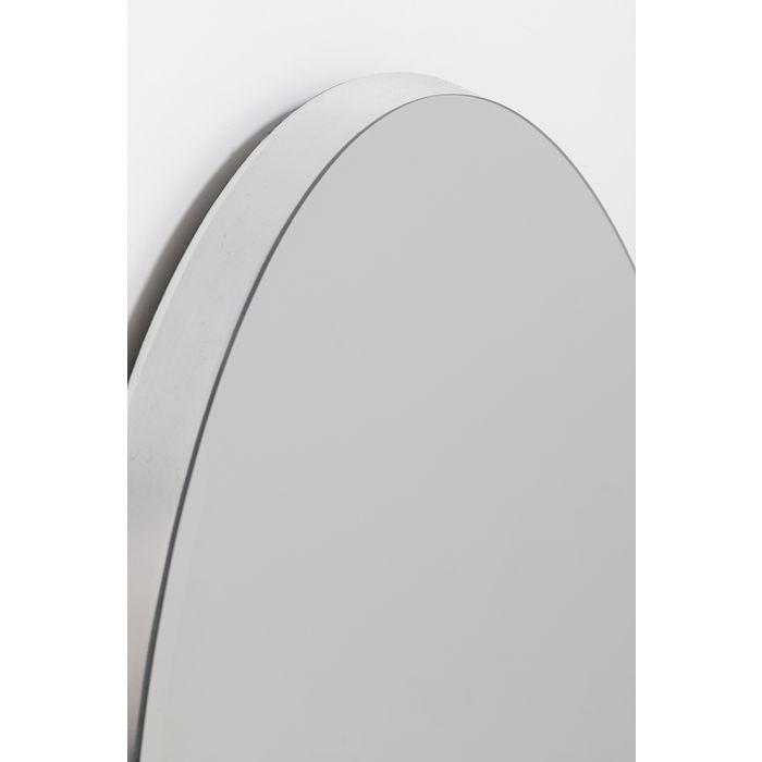 Silver Jetset Oval Mirror