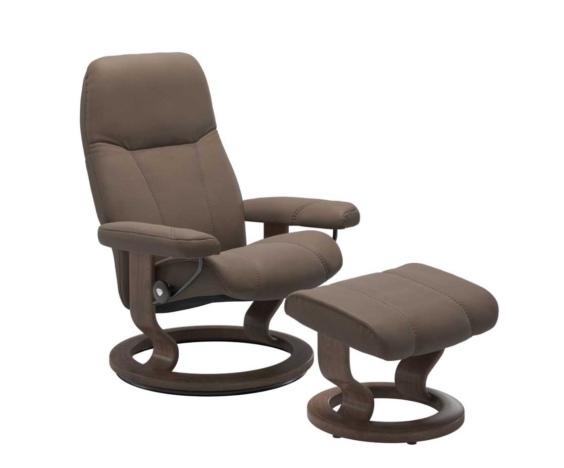 Stressless Consul Mole Medium Recliner Chair