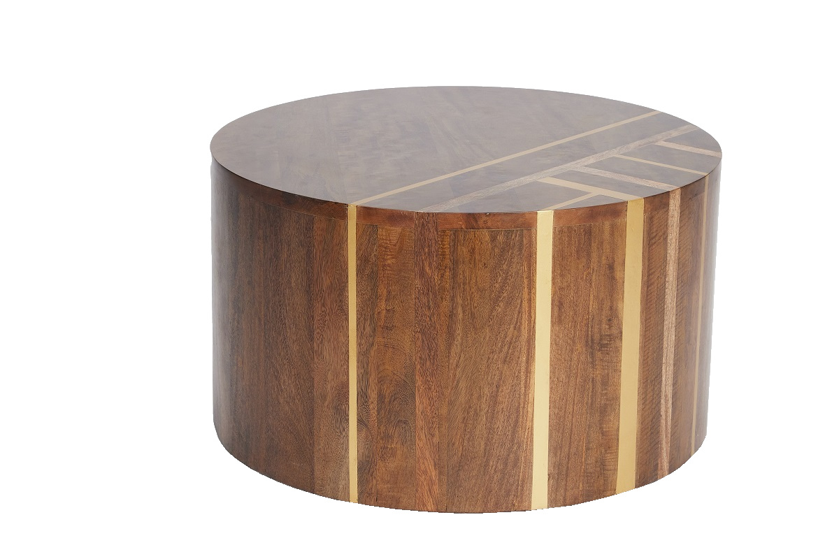 Travis Round Coffee Table