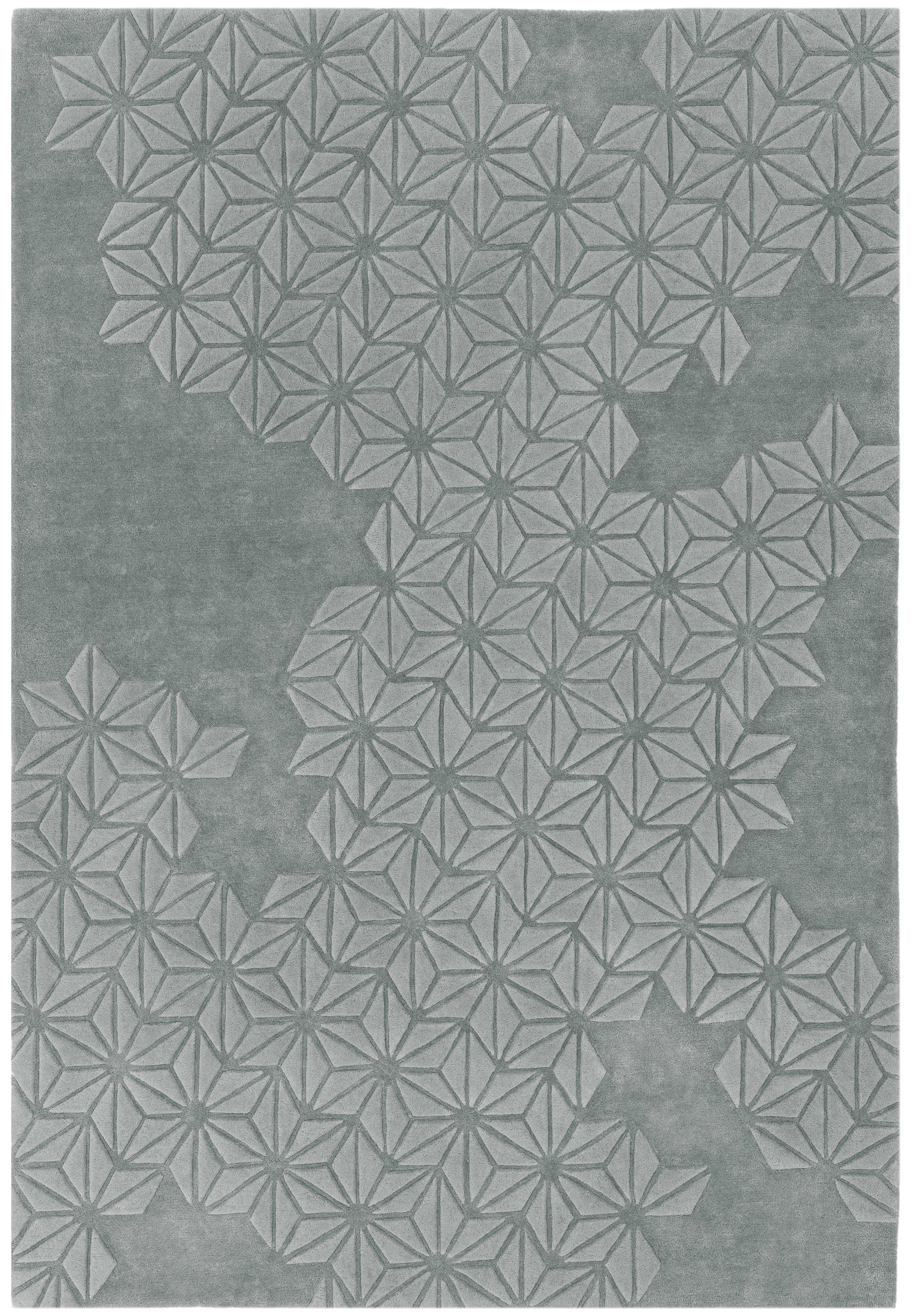 Starburst Rug Silver