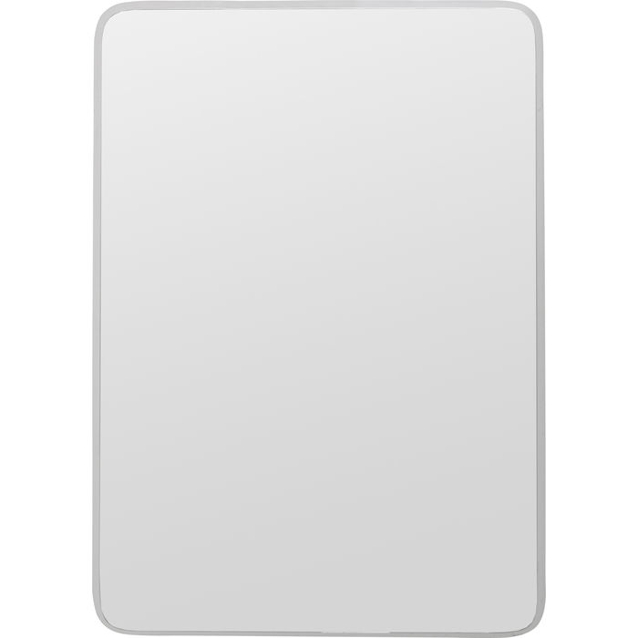Silver Jetset Square Mirror