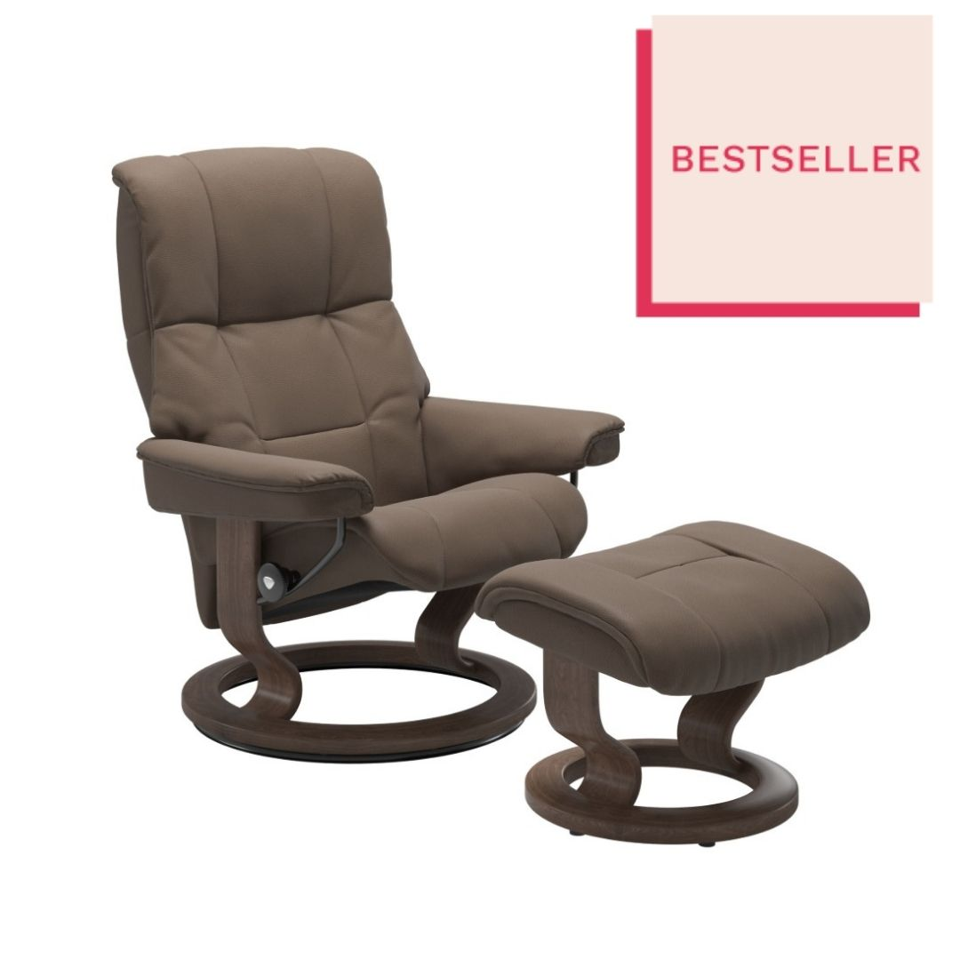 Stressless Mayfair Mole Recliner - Large