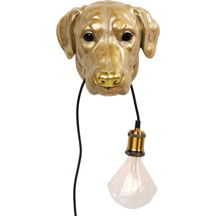 Dog Head Wall Lamp