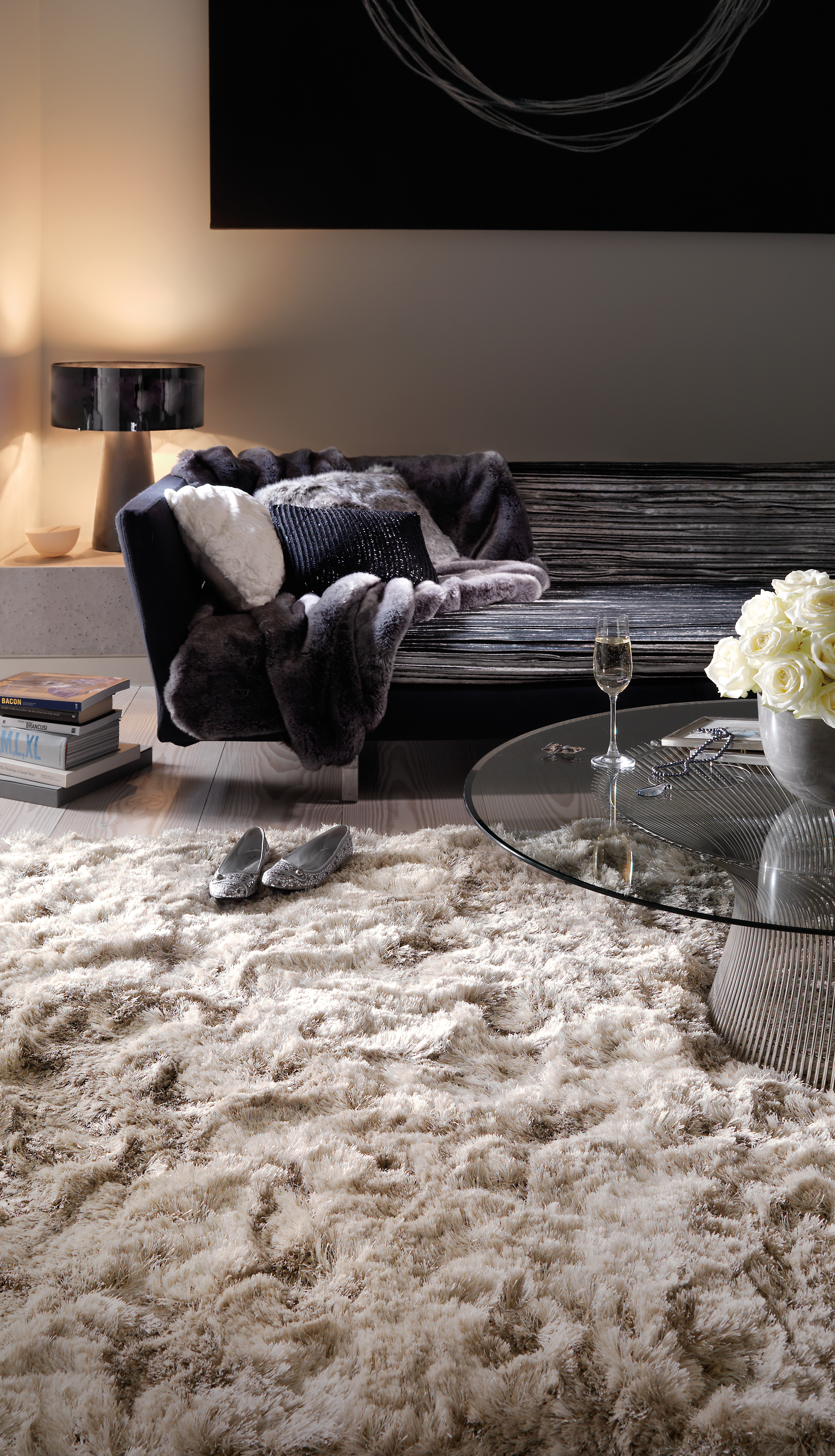 Plush Rug Sand