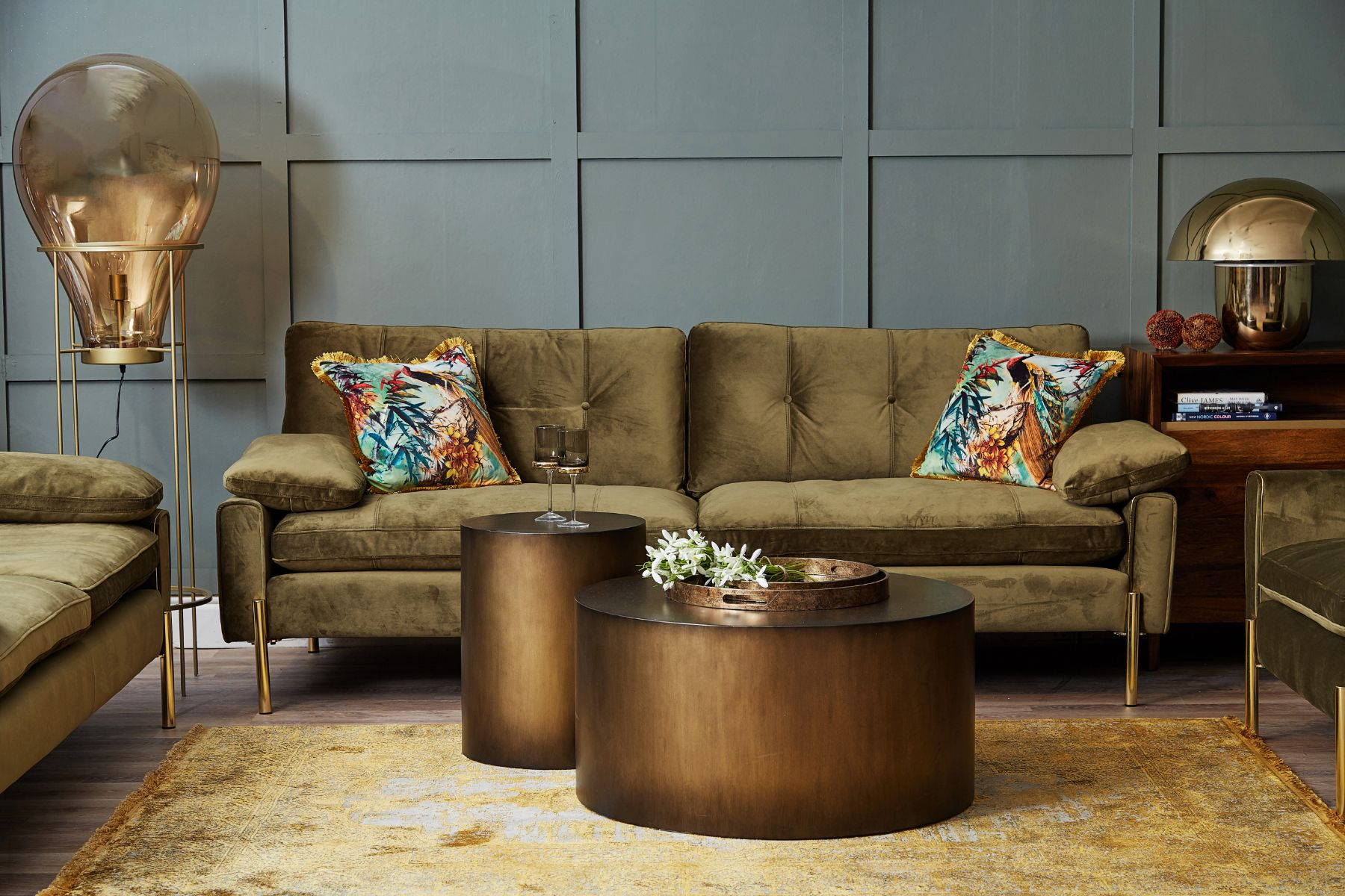 Dudley 3 Seater Sofa