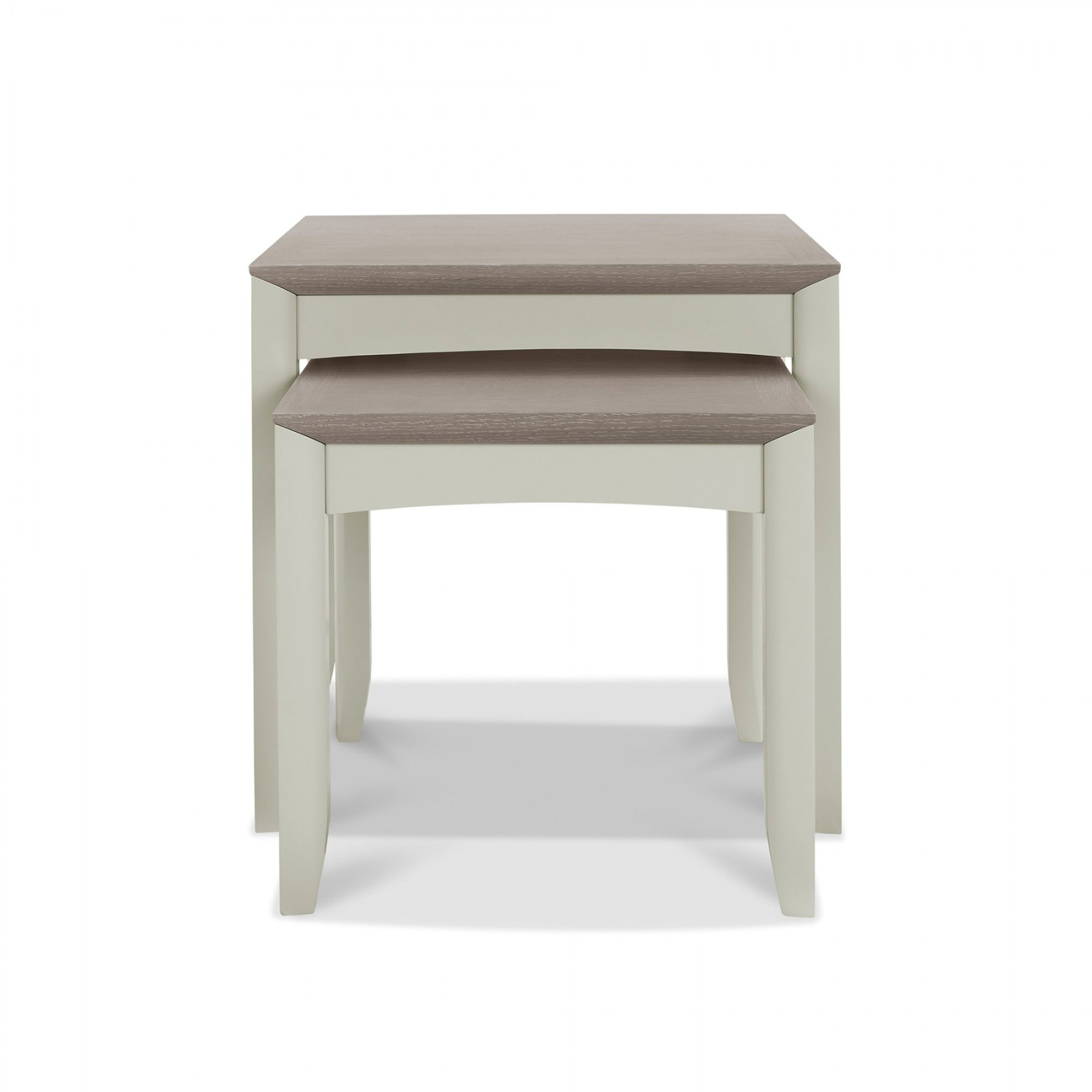 Oakley Grey Nest of Lamp Tables