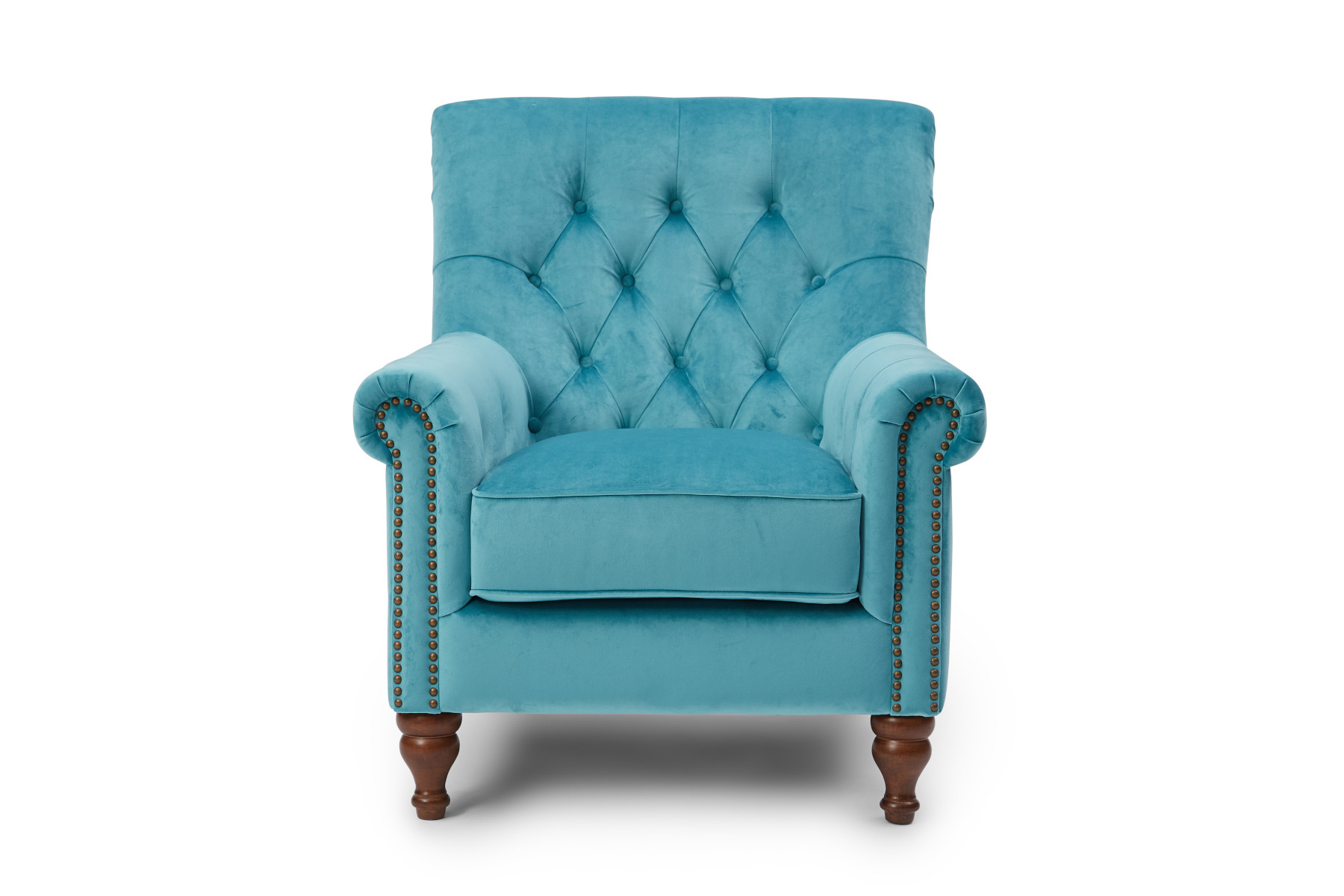 Kennedy Nester Accent Chair - Teal