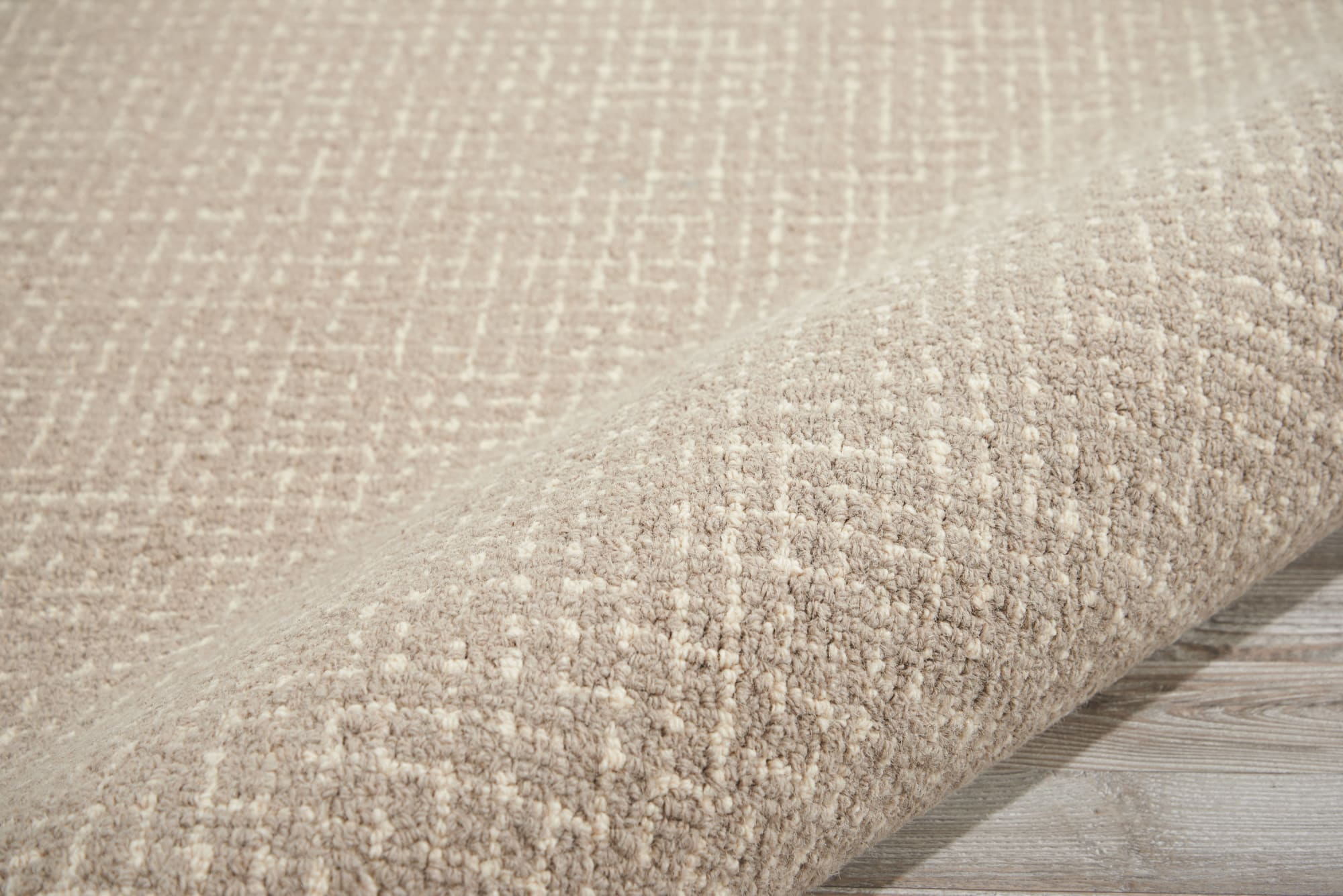 River Brook Rug KI809 Taupe/Ivory