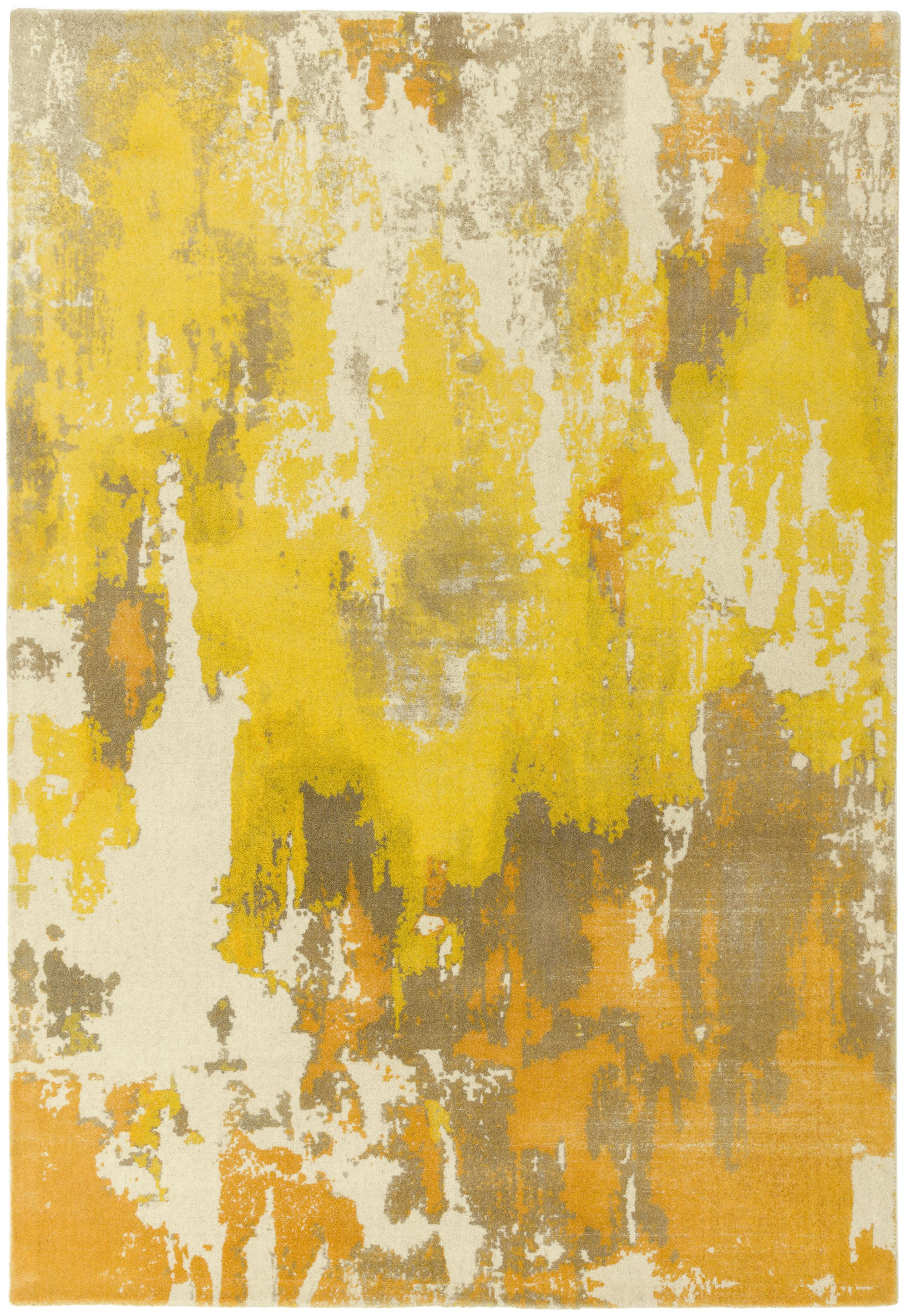 Saturn Rug Yellow