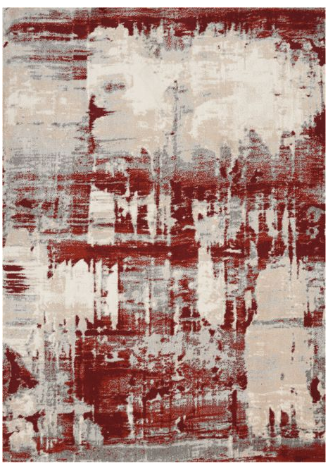 Maxell Rug - MAE14 - Ivory Red