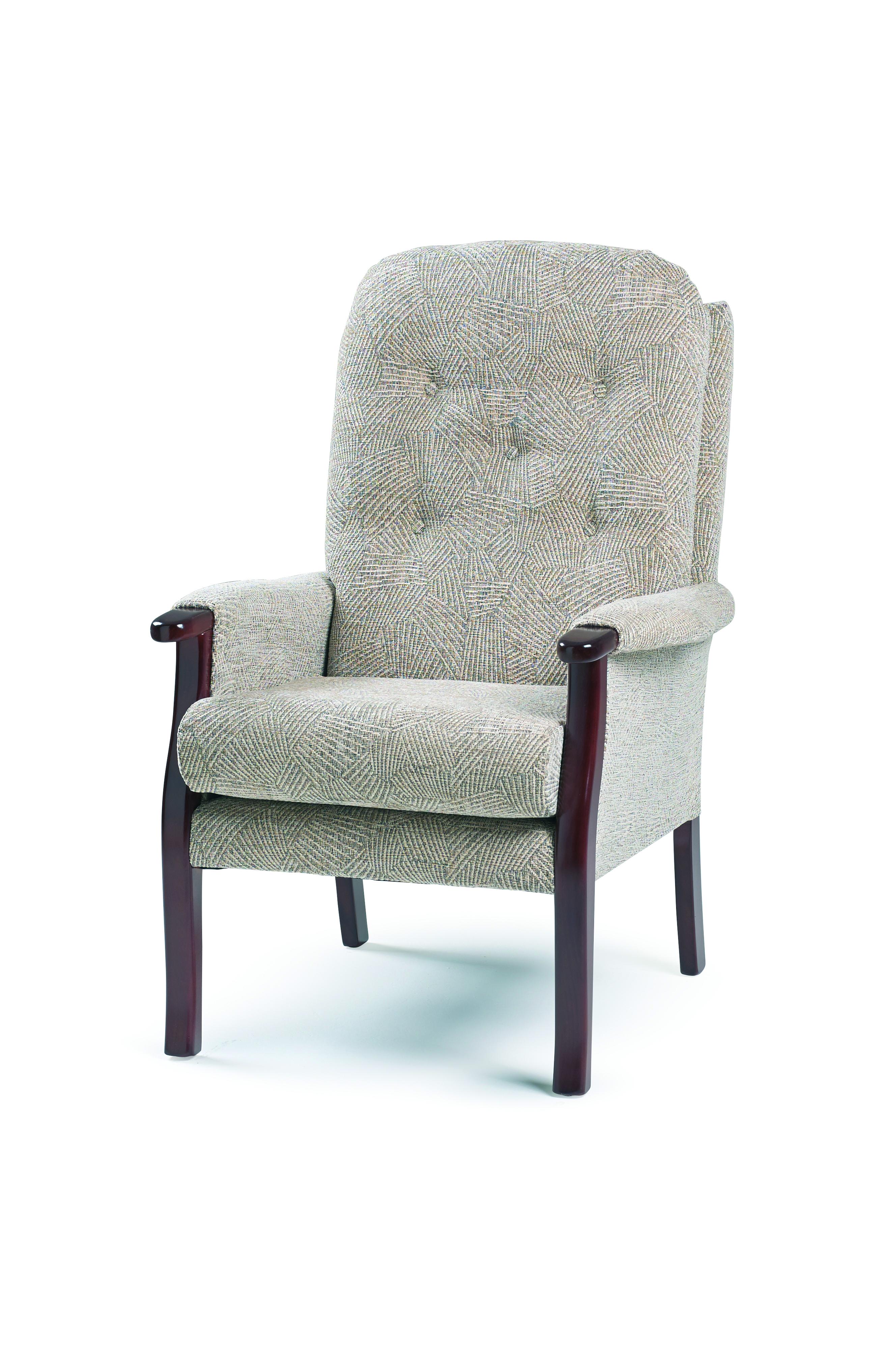 Orthopaedic Fireside Montana Brushstrokes Oatmeal Chair