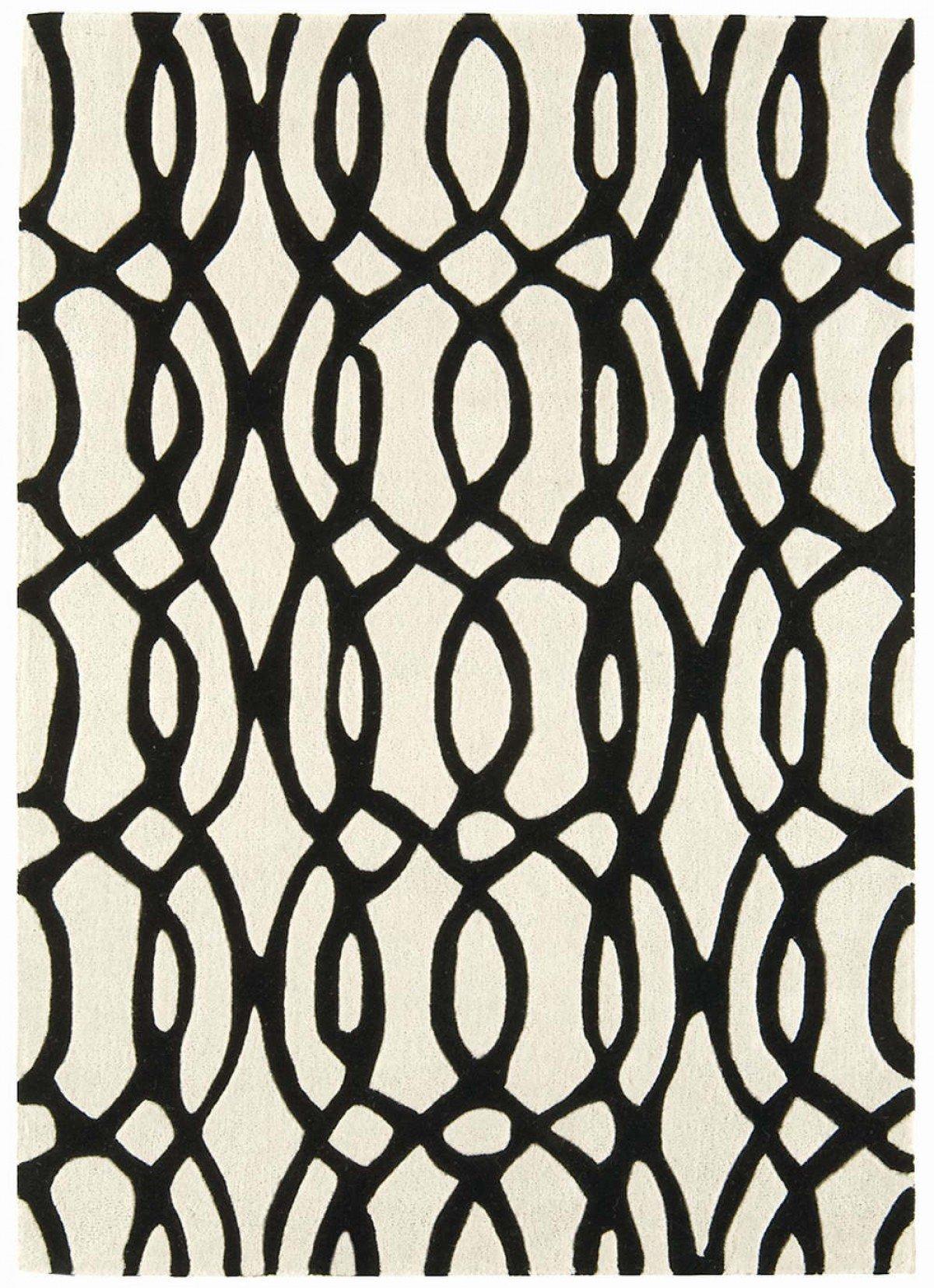 Matrix Rug Wire White