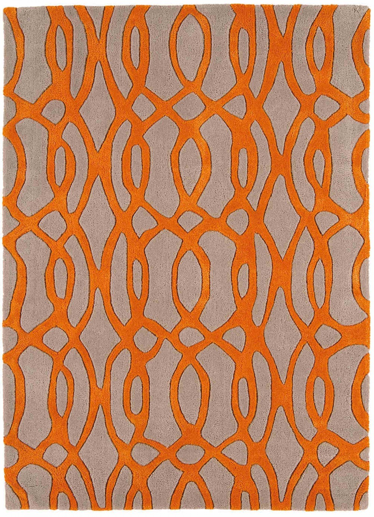 Matrix Rug Wire Orange