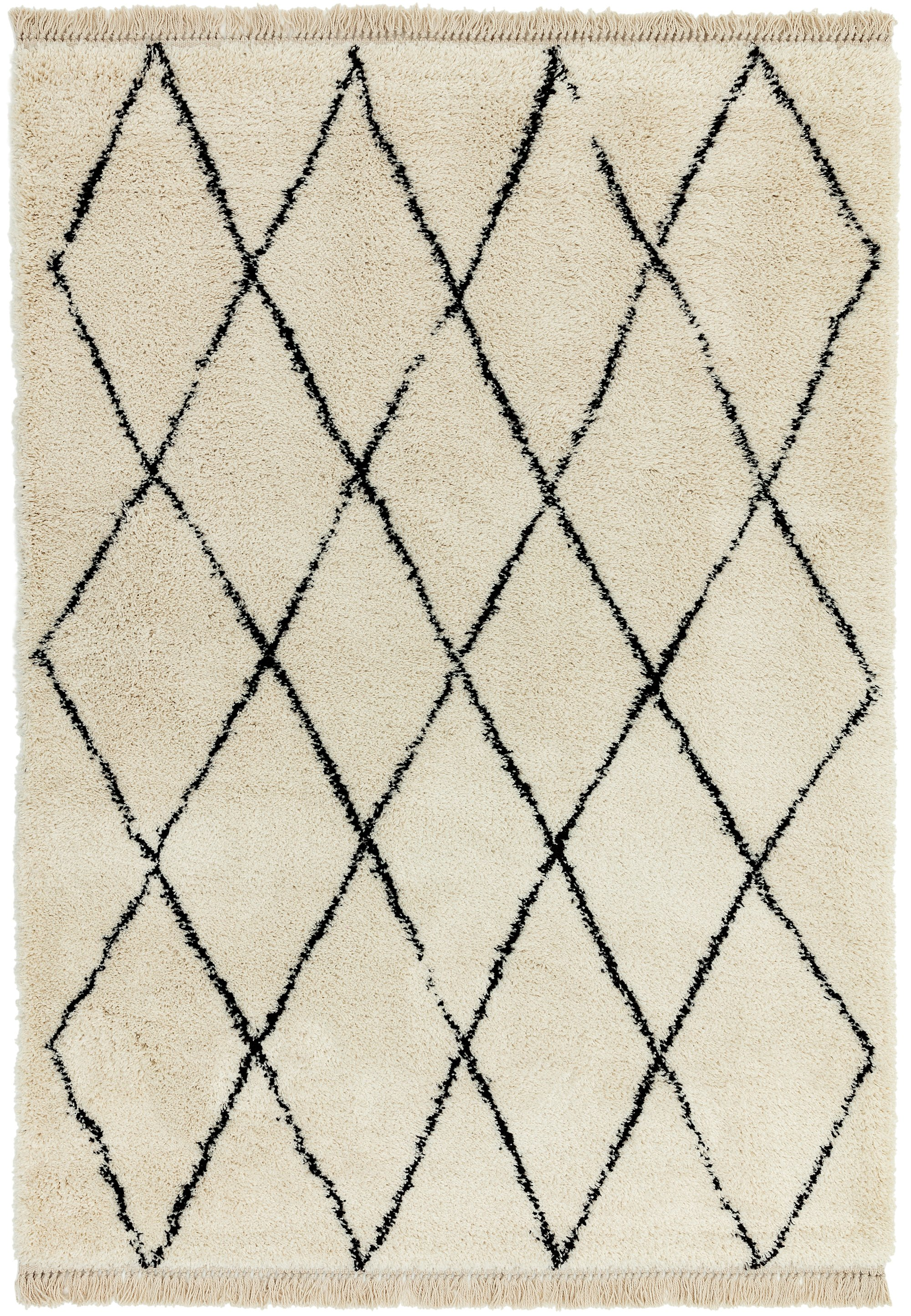 Rocco Rug RC08 CREAM DIAMOND