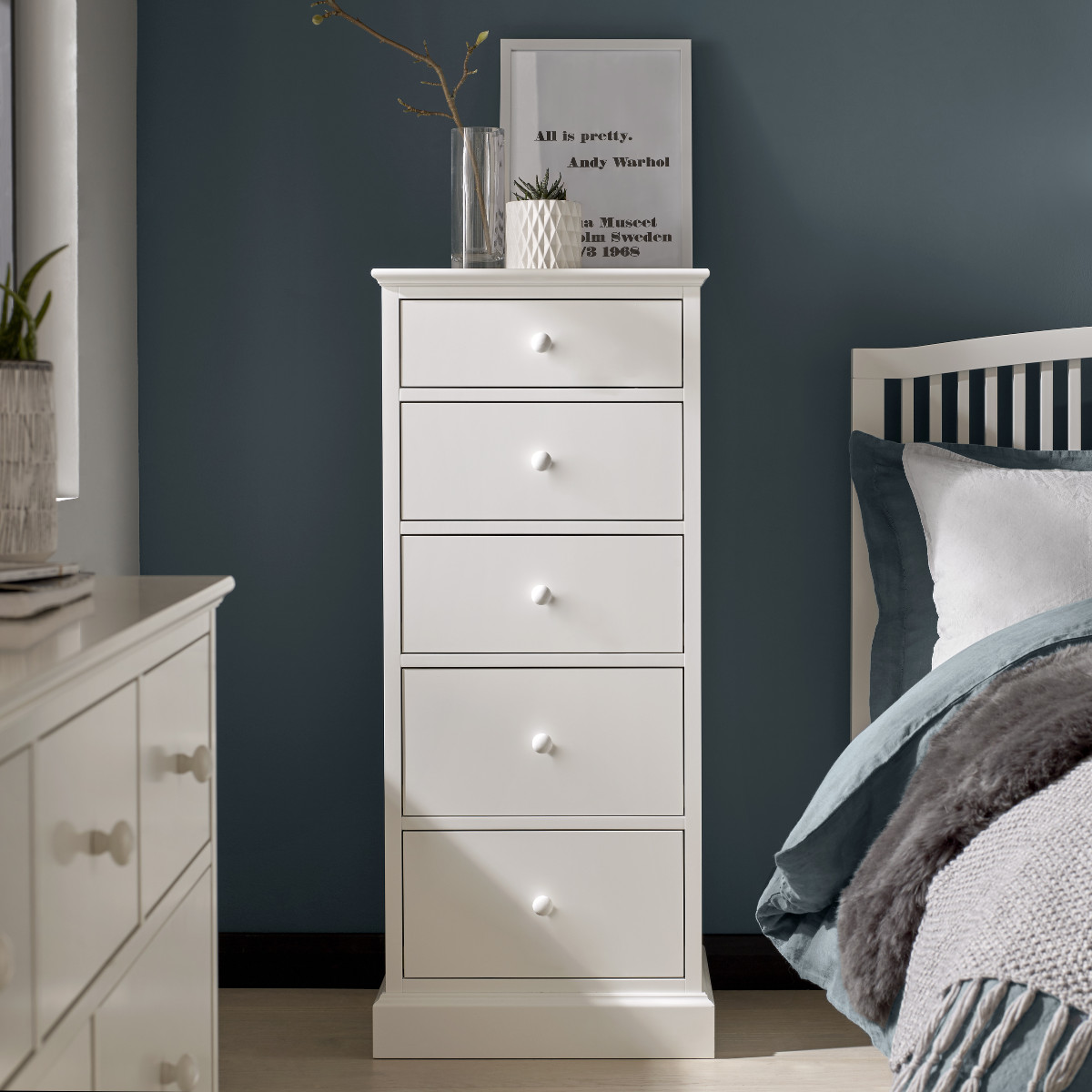 Aoibheann 5 Drawer Tall Chest of Drawers