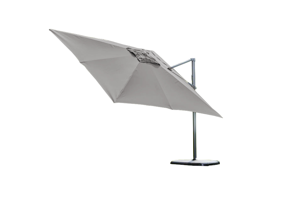 Provence Deluxe Parasol - Grey