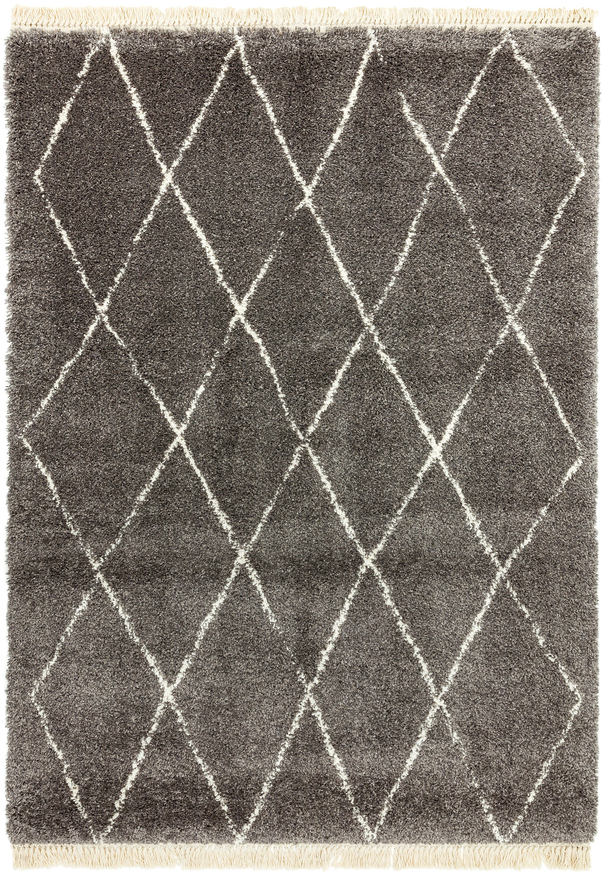 Rocco Rug RC07 GREY DIAMOND