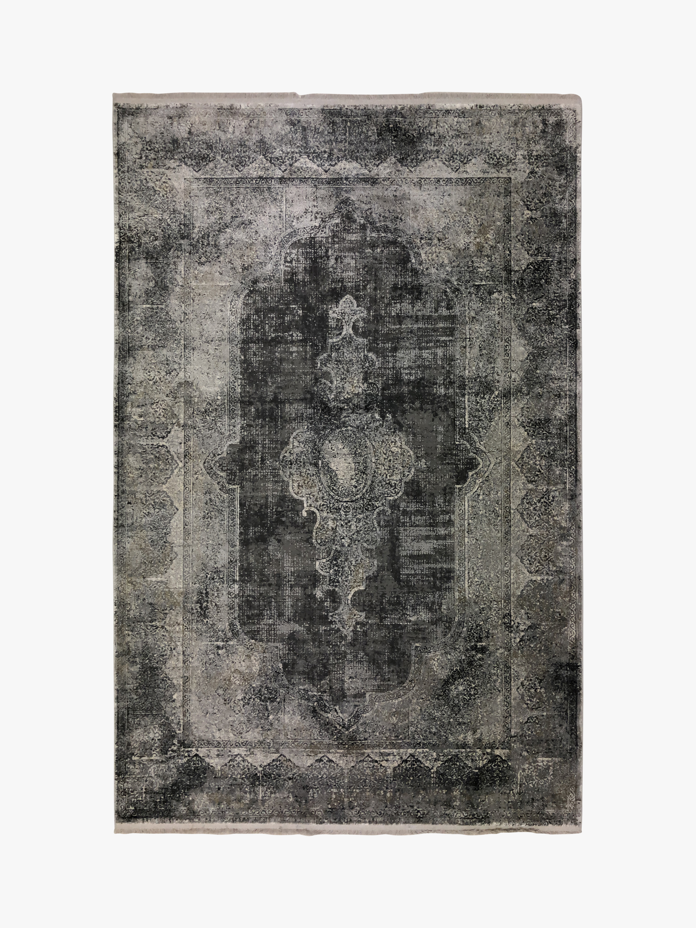 Toros Overdyed Rug Frost Grey