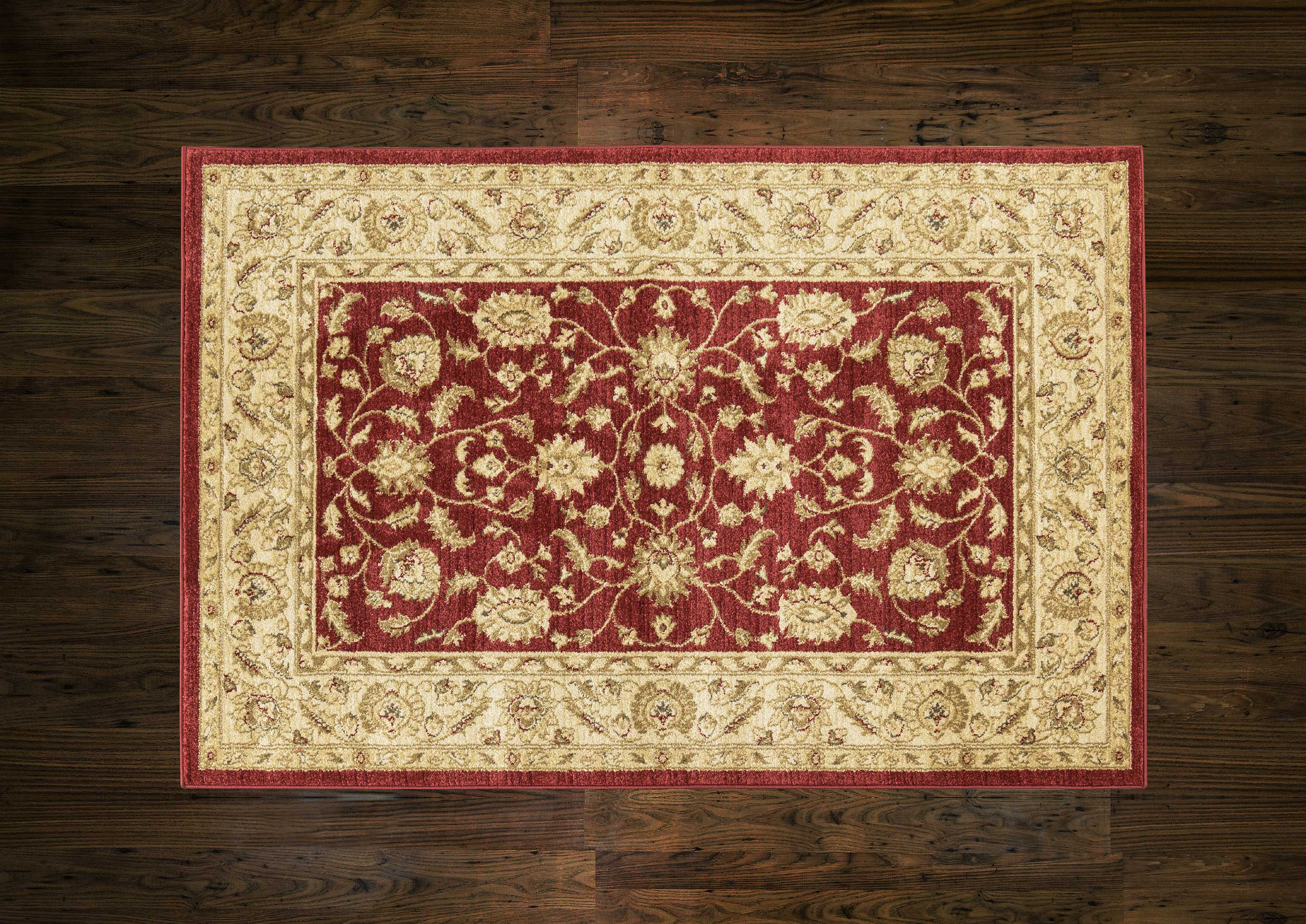 Ziegler Rug 7709 Red/Cream