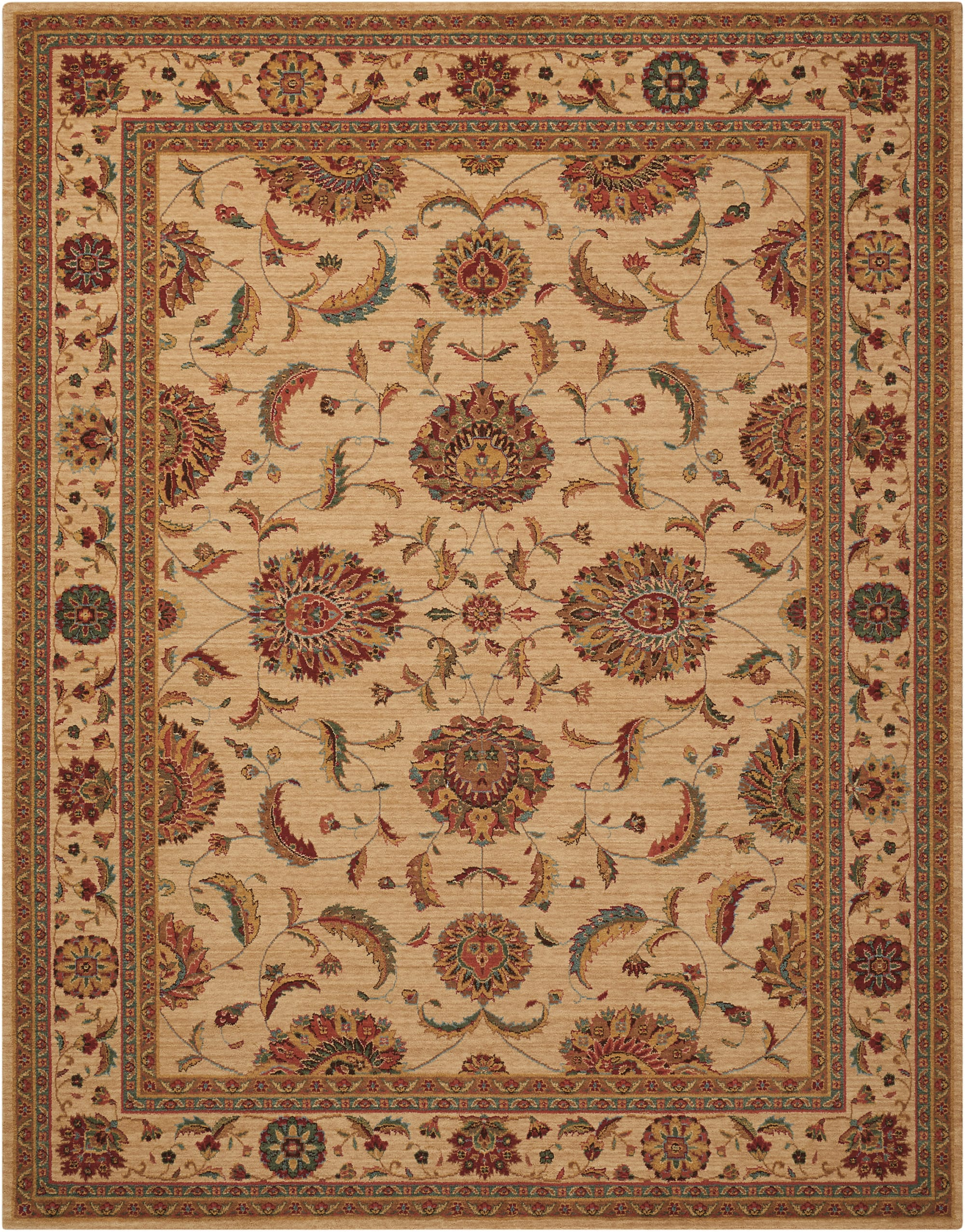 Living Treasures Rug LI04 Ivory