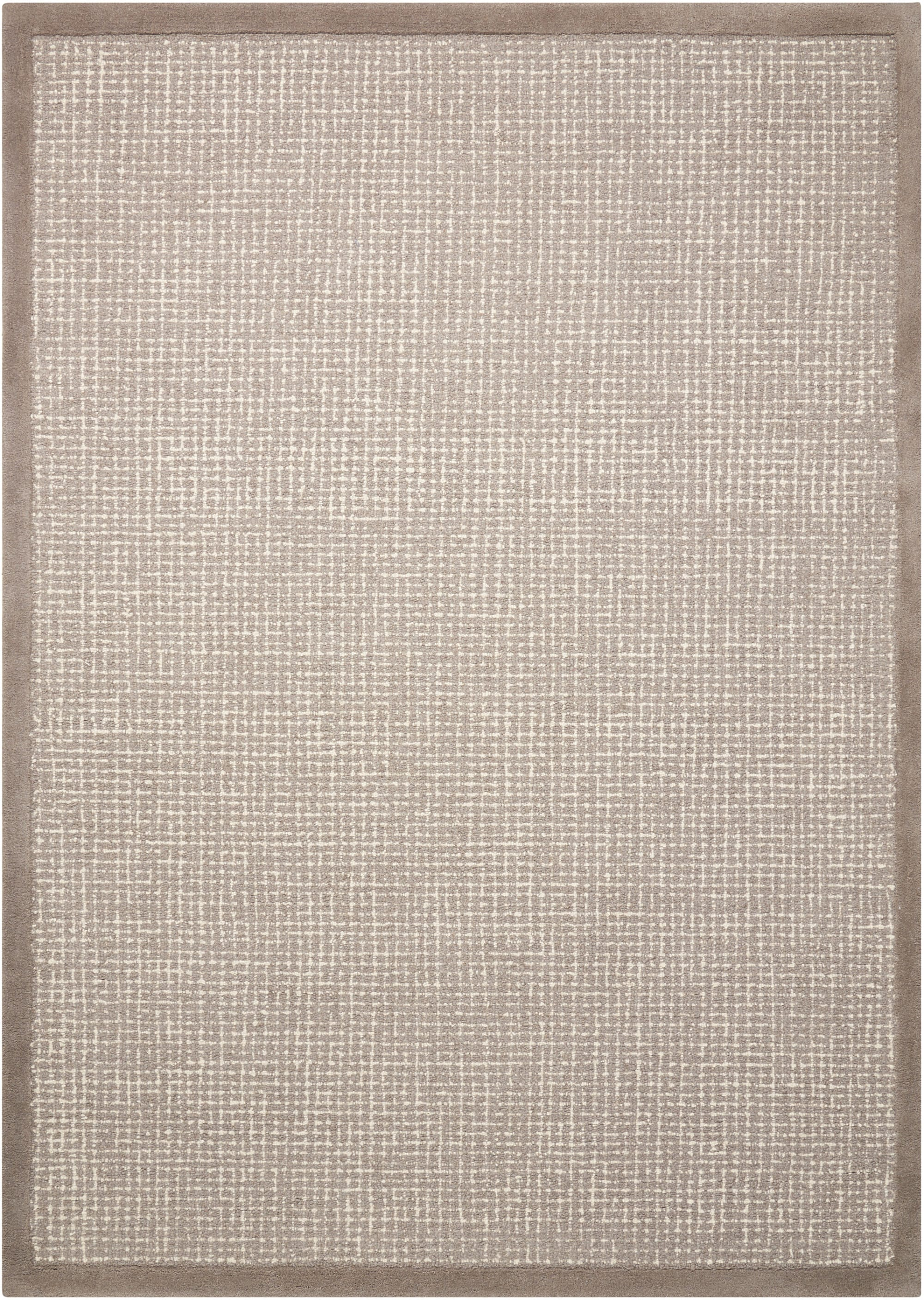 River Brook Rug KI809 Grey/Ivory